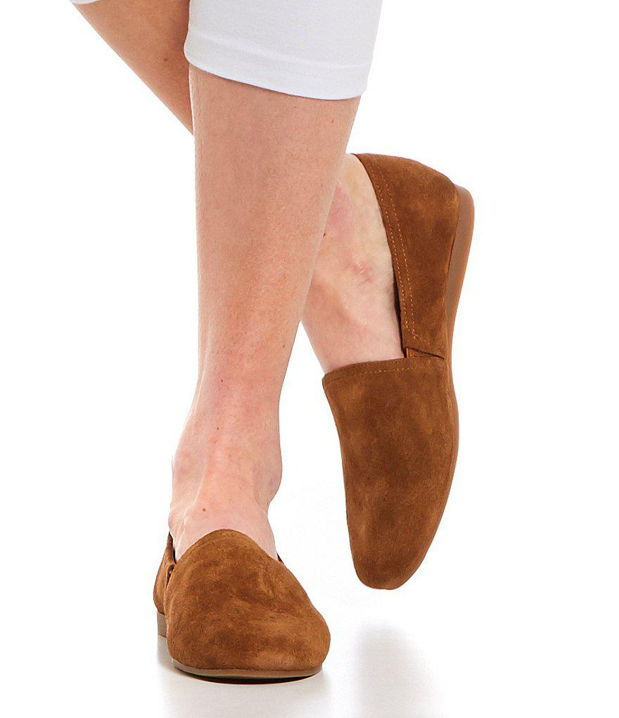 Lucky Brand Brettany Suede Flats in