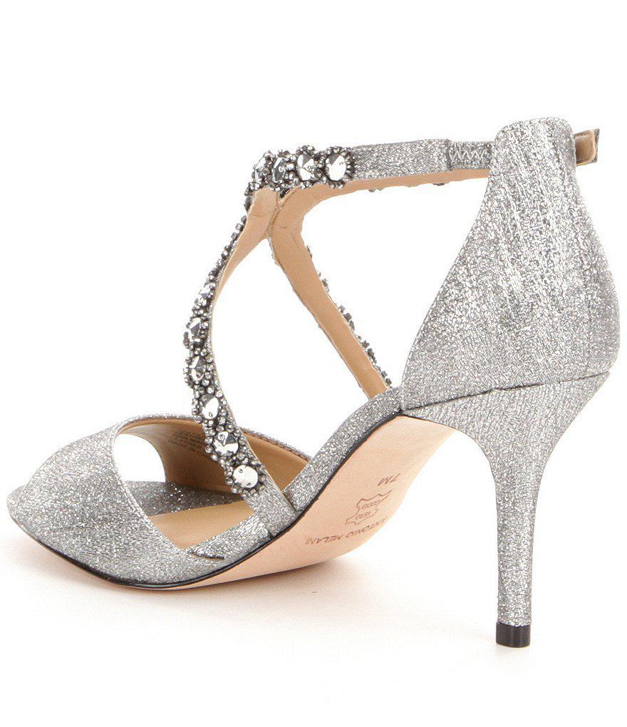 Jamme Rhinestone Embellished Dress Sandals vqtxfGaJo