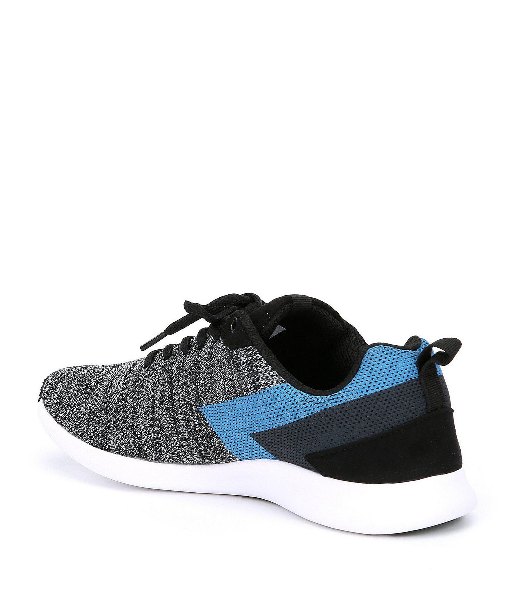 28ea2083edc Lyst - Steve Madden Men s Barrett Knit Sneaker in Blue for Men
