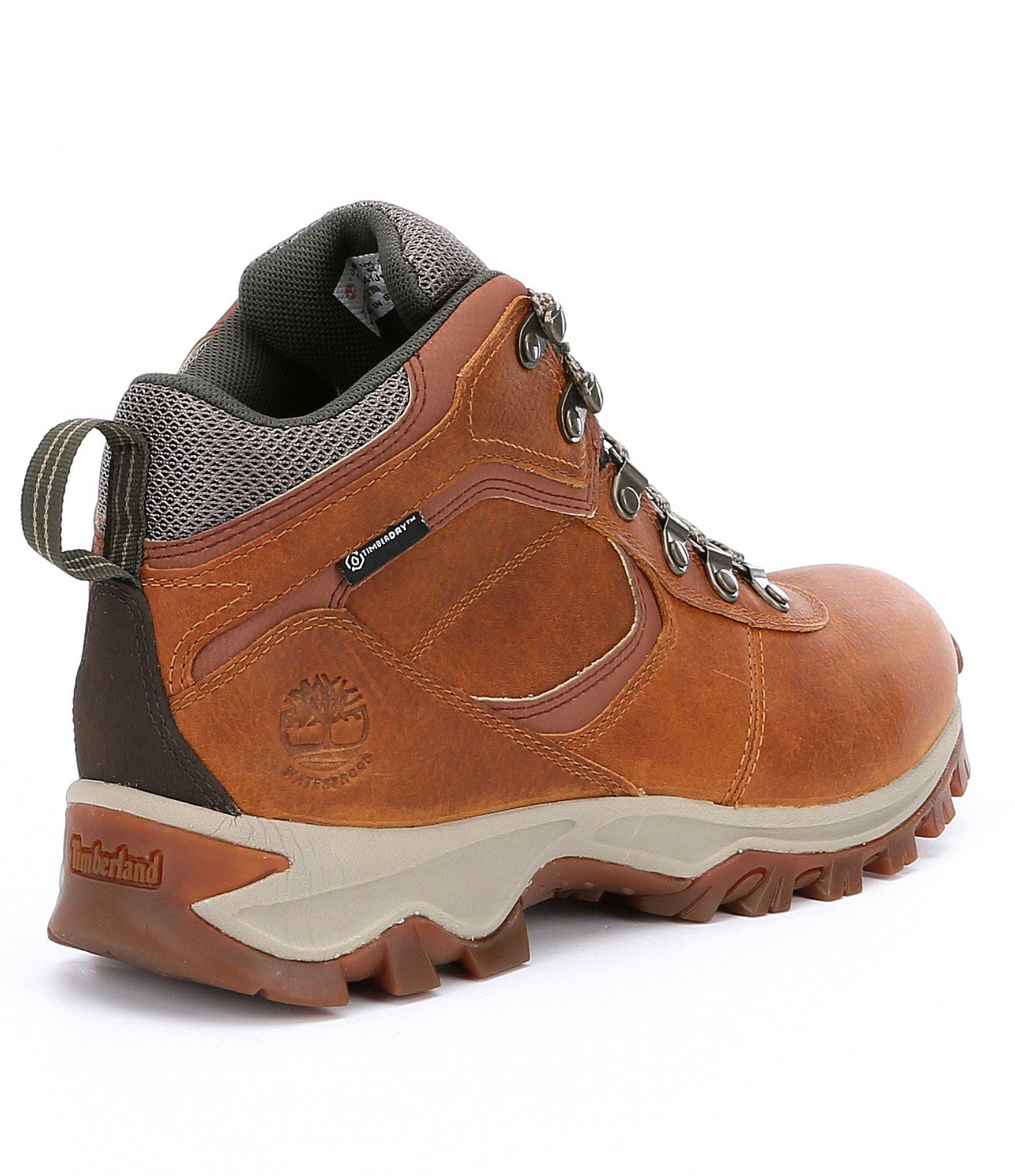 579f8d2a868 Brown Men ́s Mt. Maddsen Waterproof Mid Hiking Boots