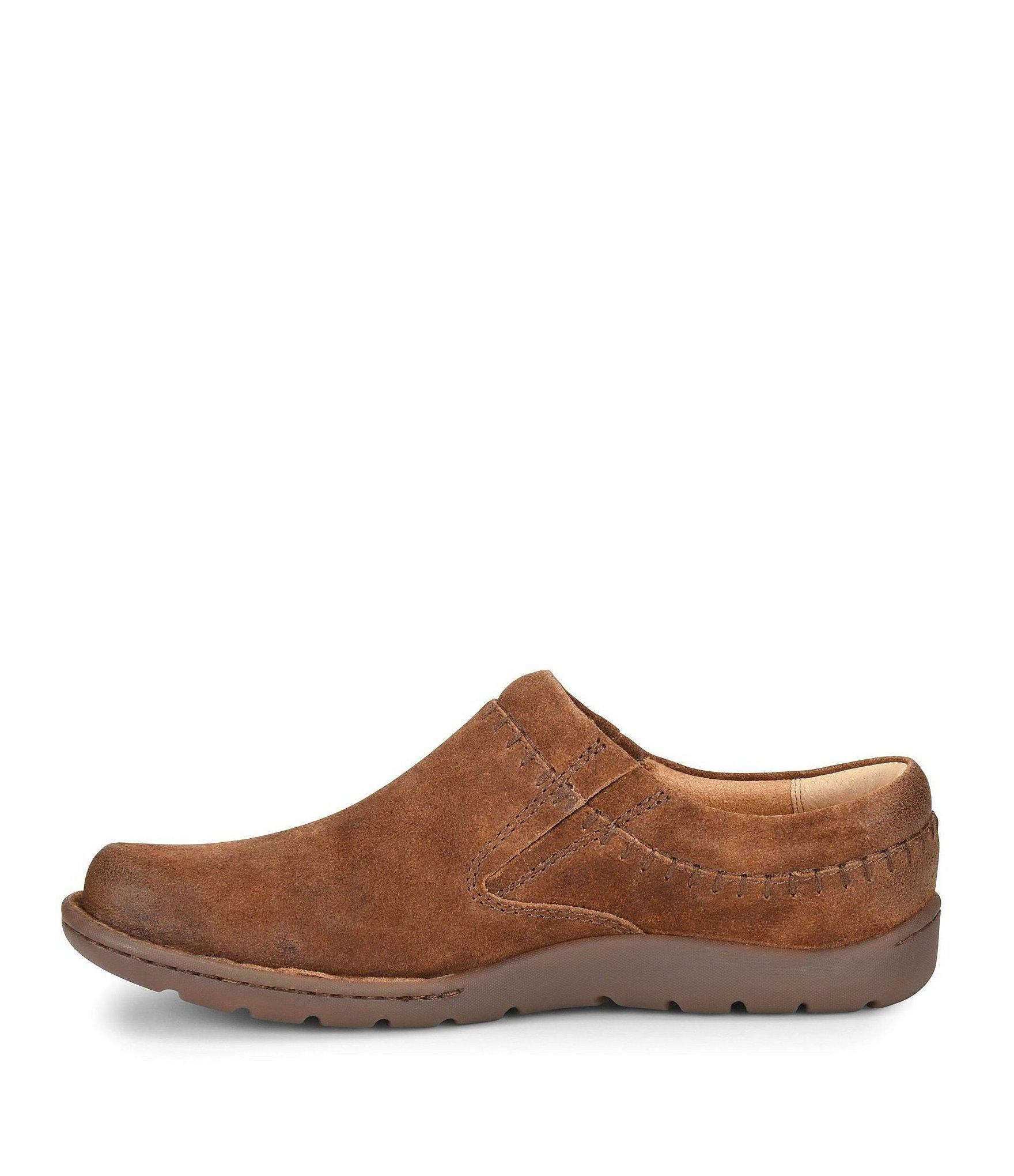 307371544a44 Lyst - Born Men s Nigel Leather And Suede Clogs in Brown for Men