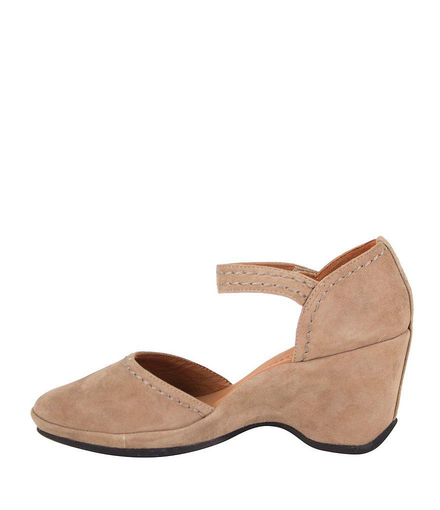 Orva Suede Ankle Strap Pumps As7vP1wIpx