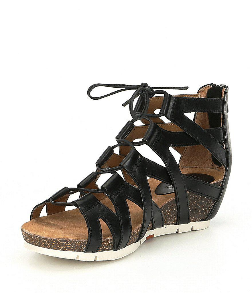 Josef Seibel Hailey 35 Caged Gladiator Sandals UE0hMVA