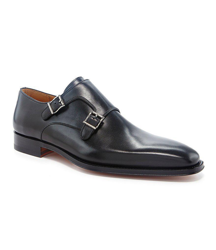 Magnanni Black Dress Shoes