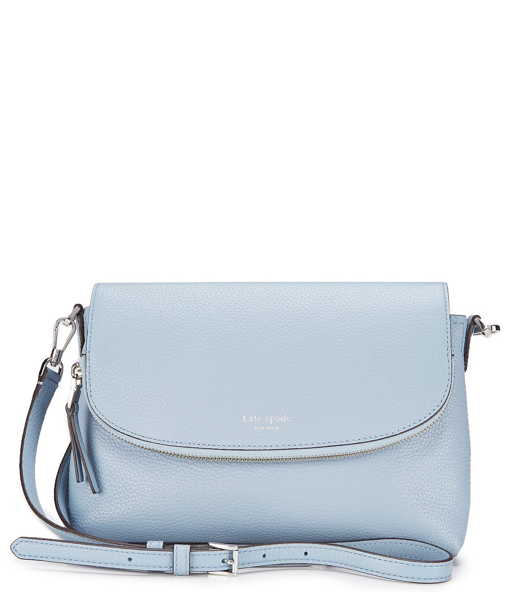 2131a1cc0a7f Lyst - Kate Spade Polly Large Flap Cross-body Bag in Blue