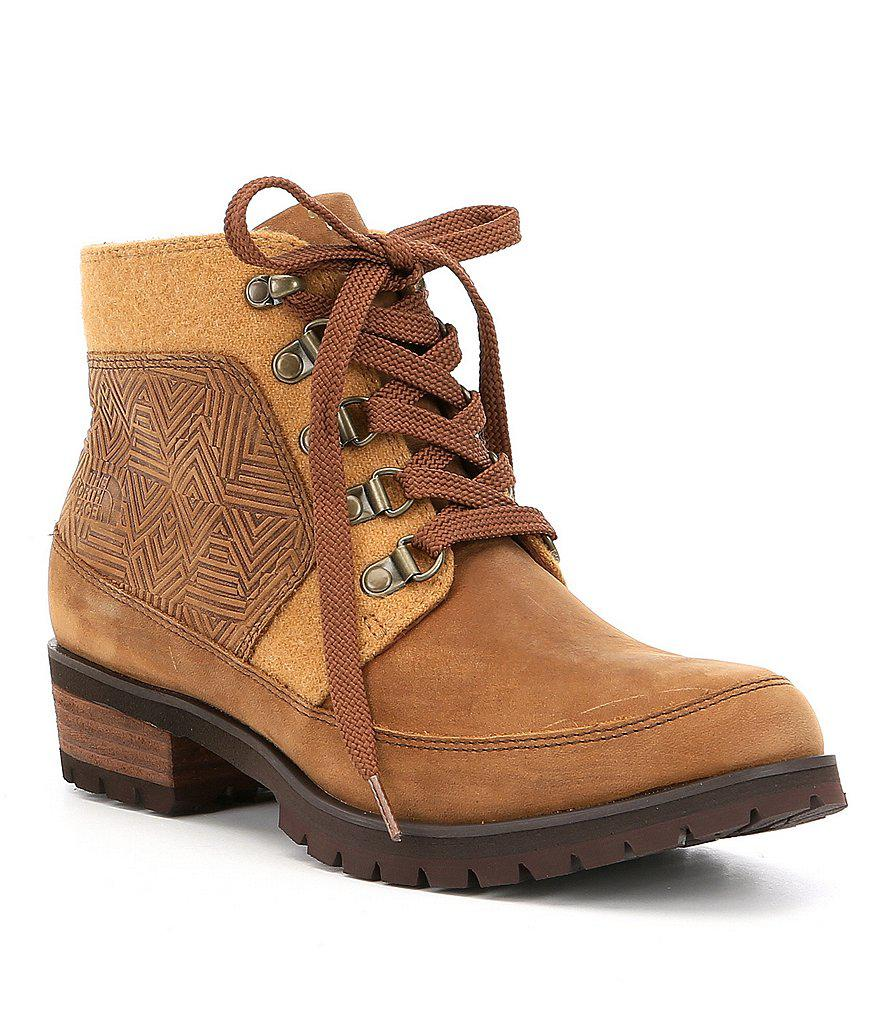 a4b957d84 The North Face Brown Women's Bridgeton Waterproof Ankle Lace Boots