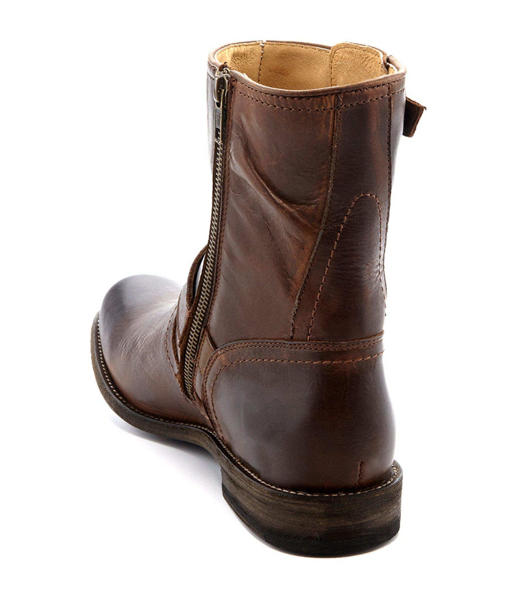 c7c5536e2c Frye - Brown Smith Engineer Leather Buckle Boots for Men - Lyst. View  fullscreen