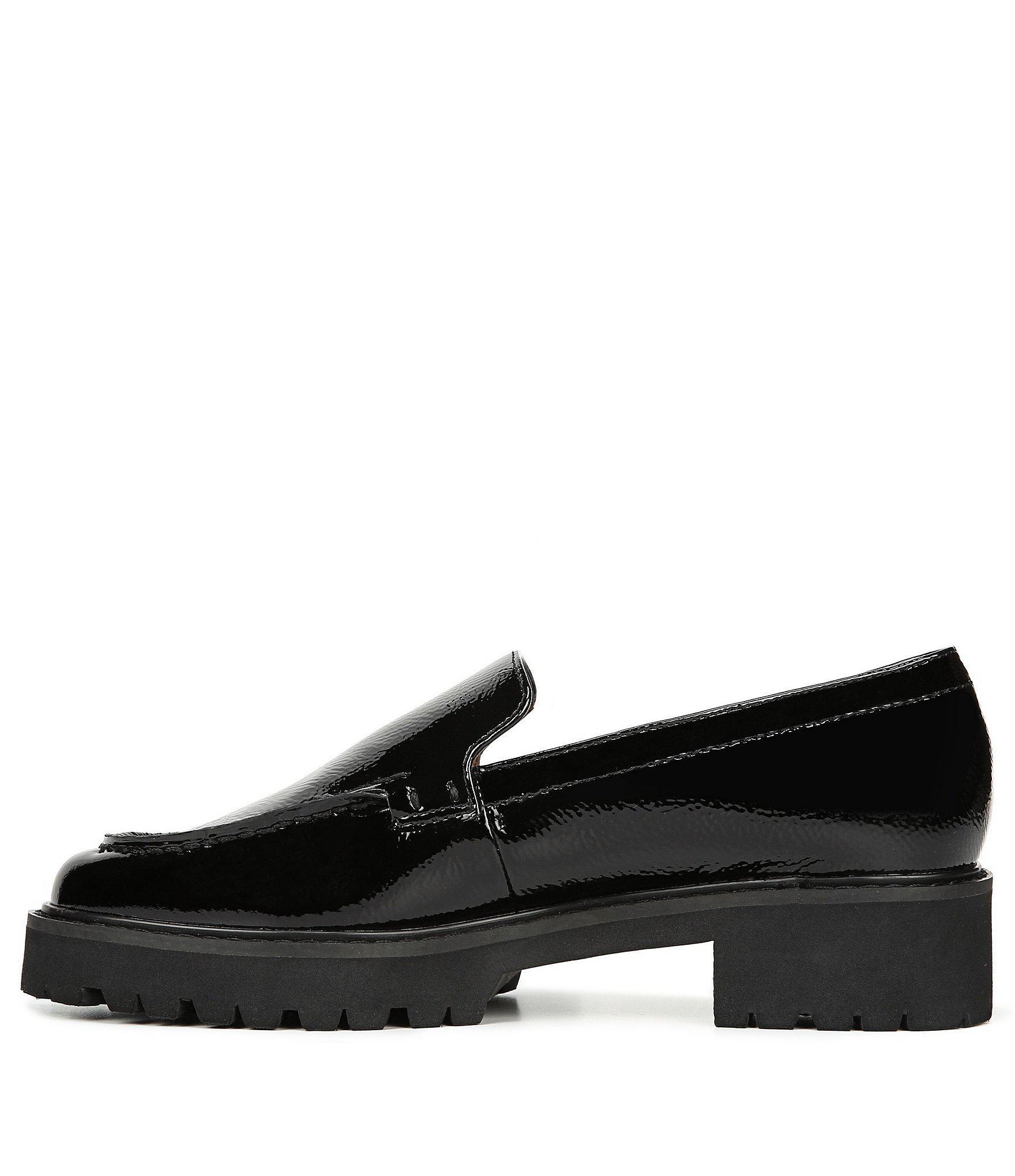 e8863b63f54 Franco Sarto - Black Sarto By Delana Patent Leather Platform Loafers - Lyst.  View fullscreen