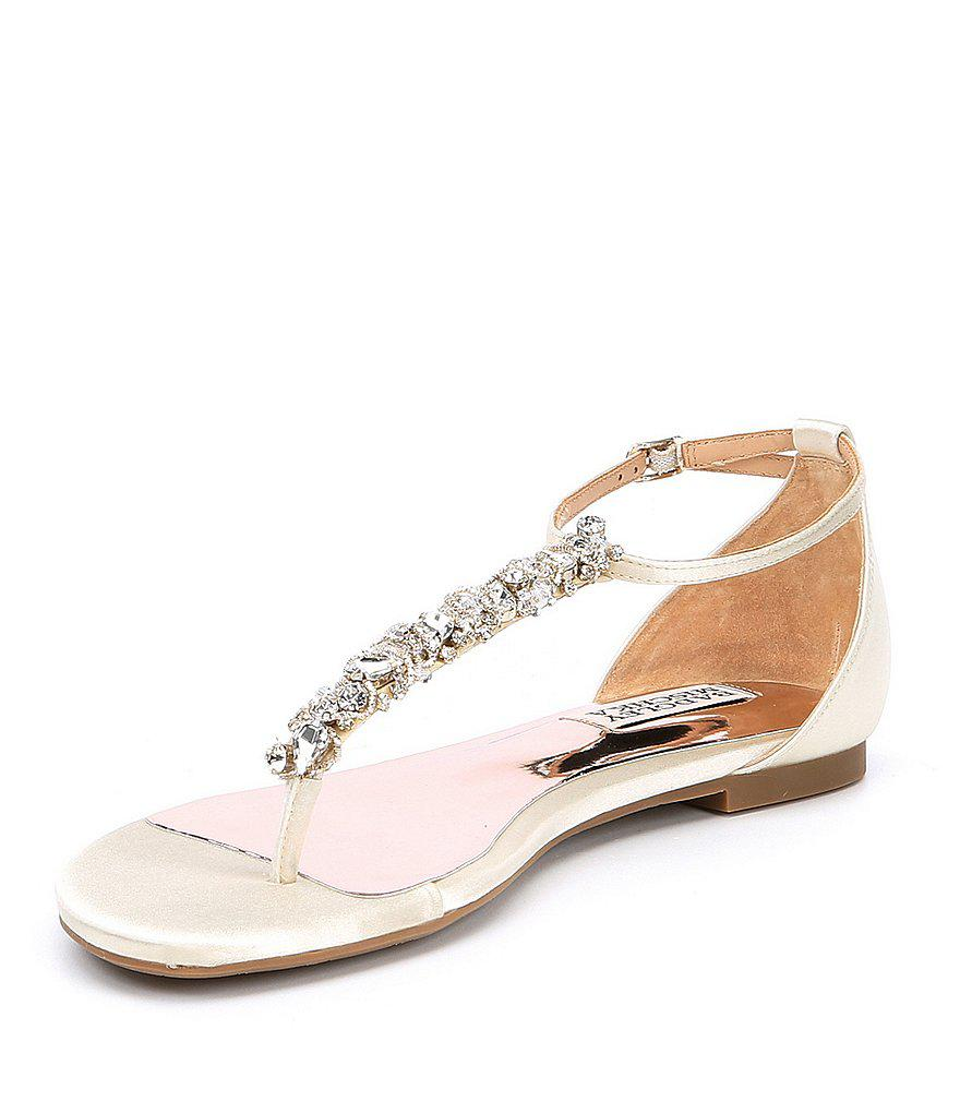 Holbrook Rhinestone Jeweled Satin Dress Sandals Gme4Zt