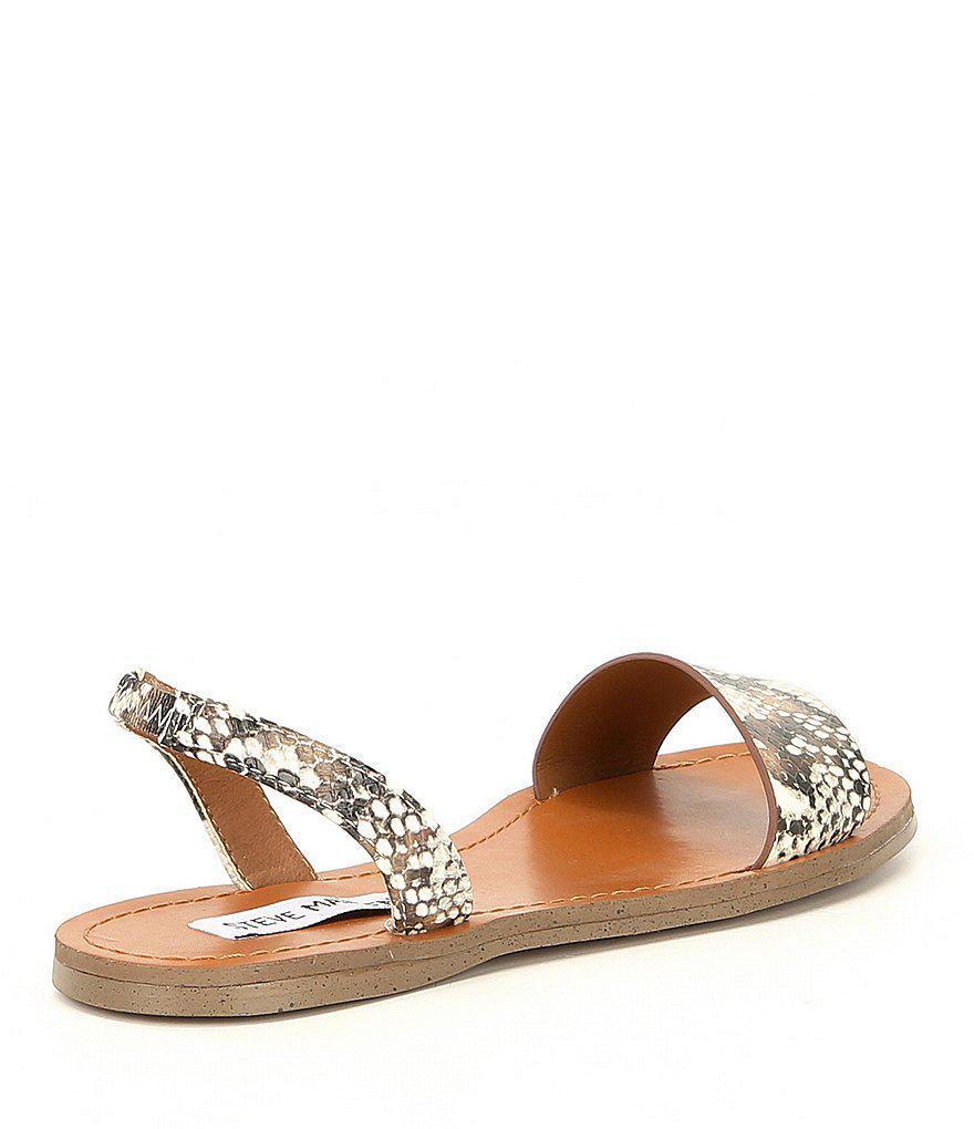 7be34e8e2ae Lyst - Steve Madden Alina Slingback Sandals in Brown
