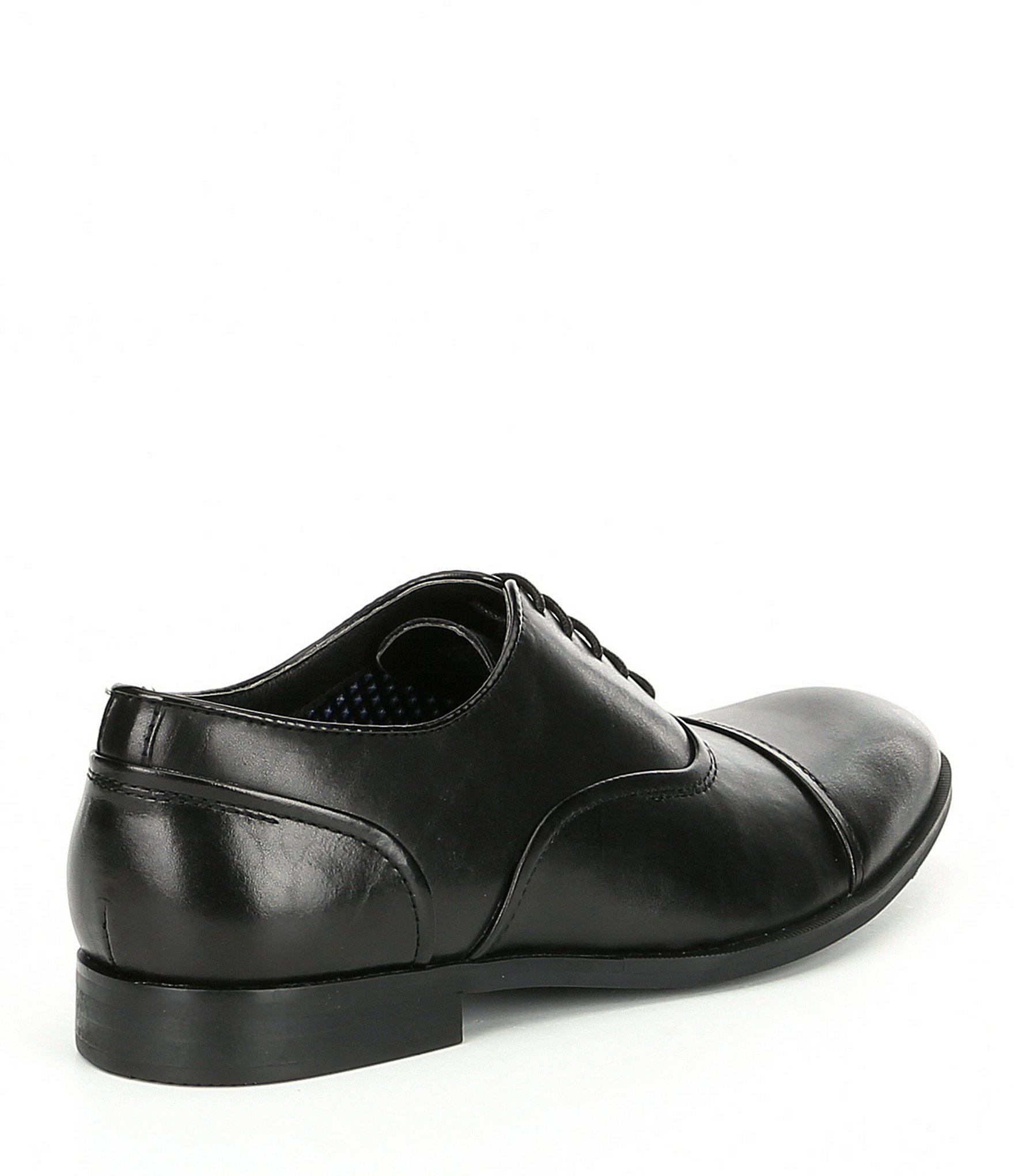 eee72bd2f4f Black Men's Elwood Leather Cap Toe Oxford
