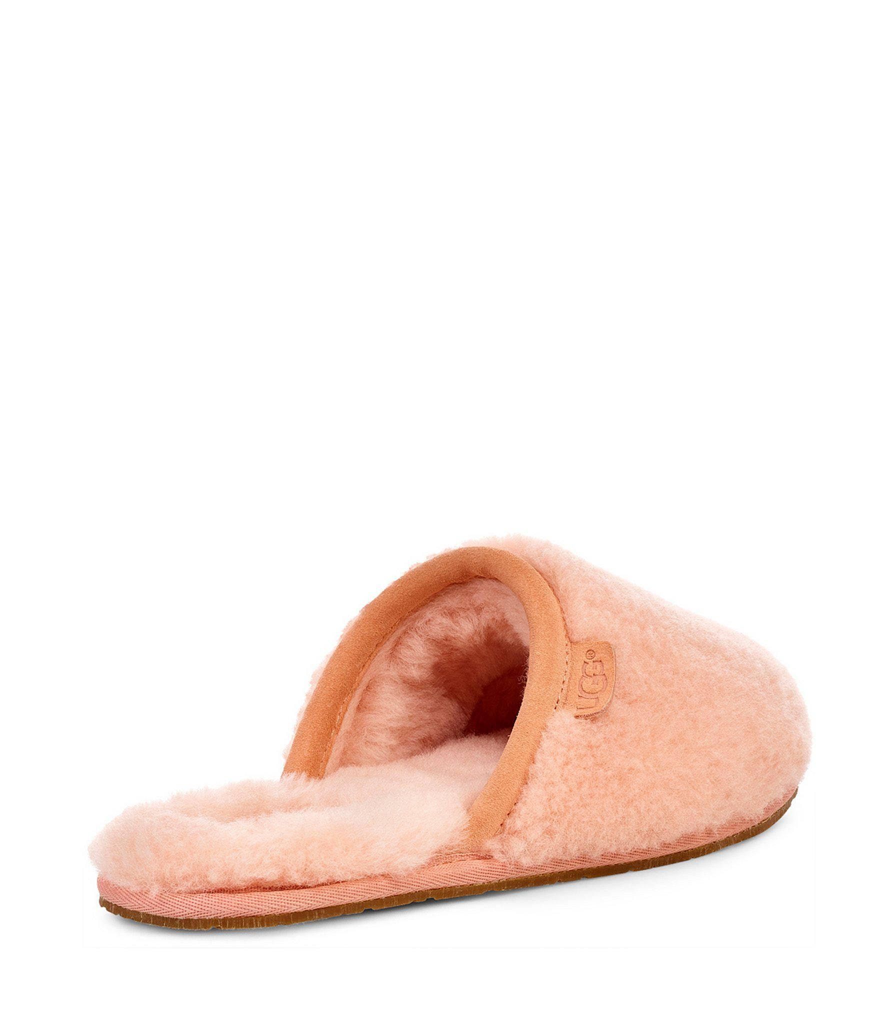 9f2a8895b49 Ugg - Pink Fluffette Slippers - Lyst