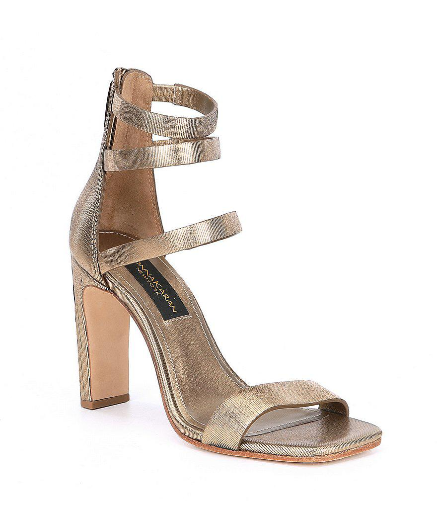 Donna Karan Embellished Wrap-Around Sandals countdown package online buy cheap best buy cheap with mastercard under $60 for sale Qo7oCFfovw