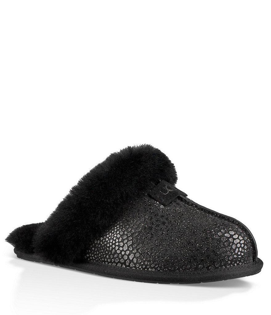 2541656fc4c Ugg Gray ® Scuffette Ii Glitzy Slippers
