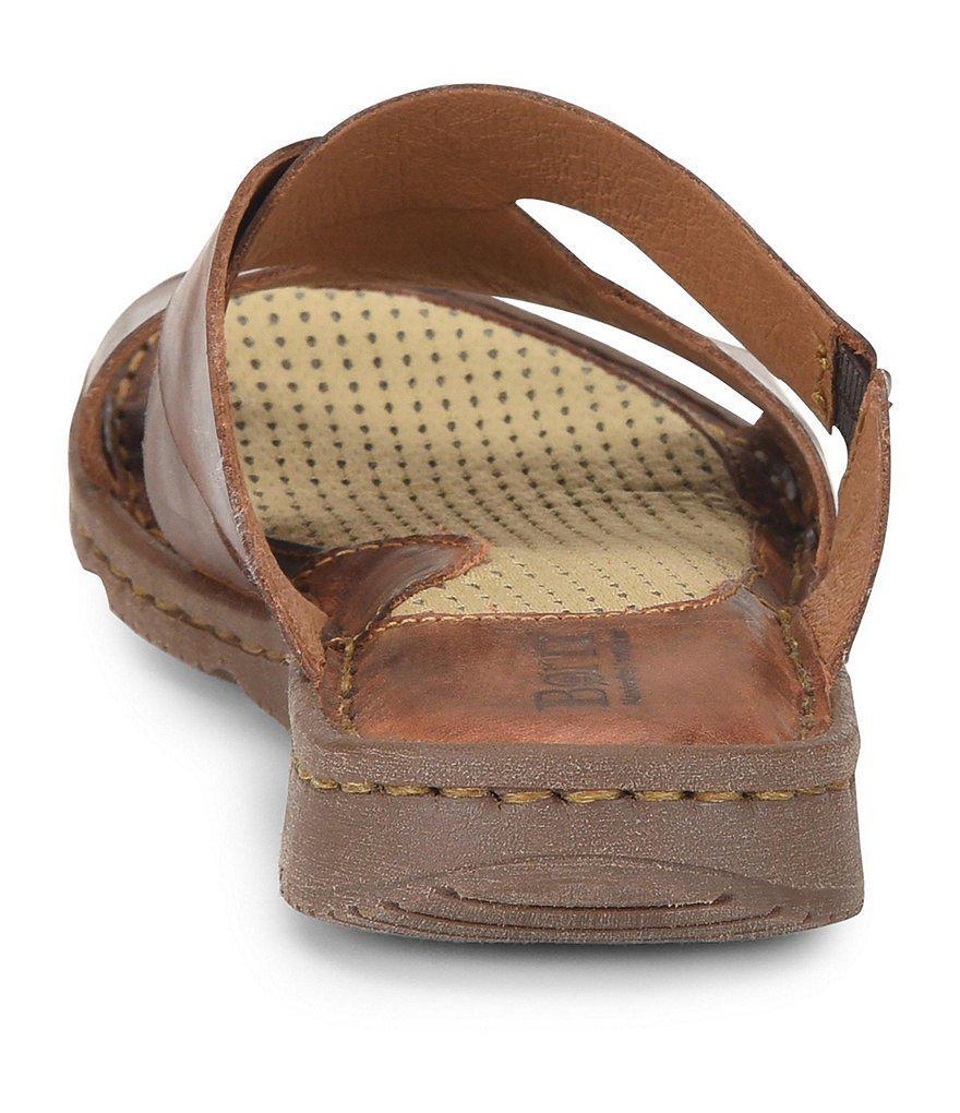 Hayka Leather Slides 2hr5w