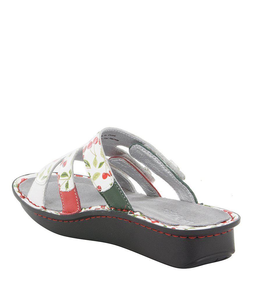 Venice Cherry Pick Slide Sandals C6l7kL4Gw