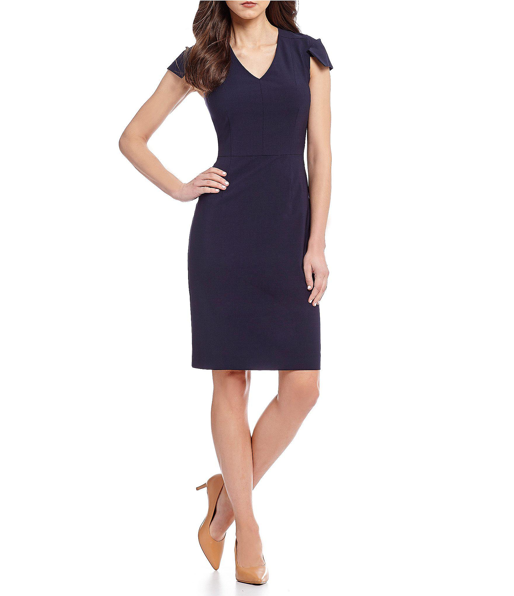 41c4353b904 Antonio Melani Landon Cap Sleeve Dress in Blue - Lyst