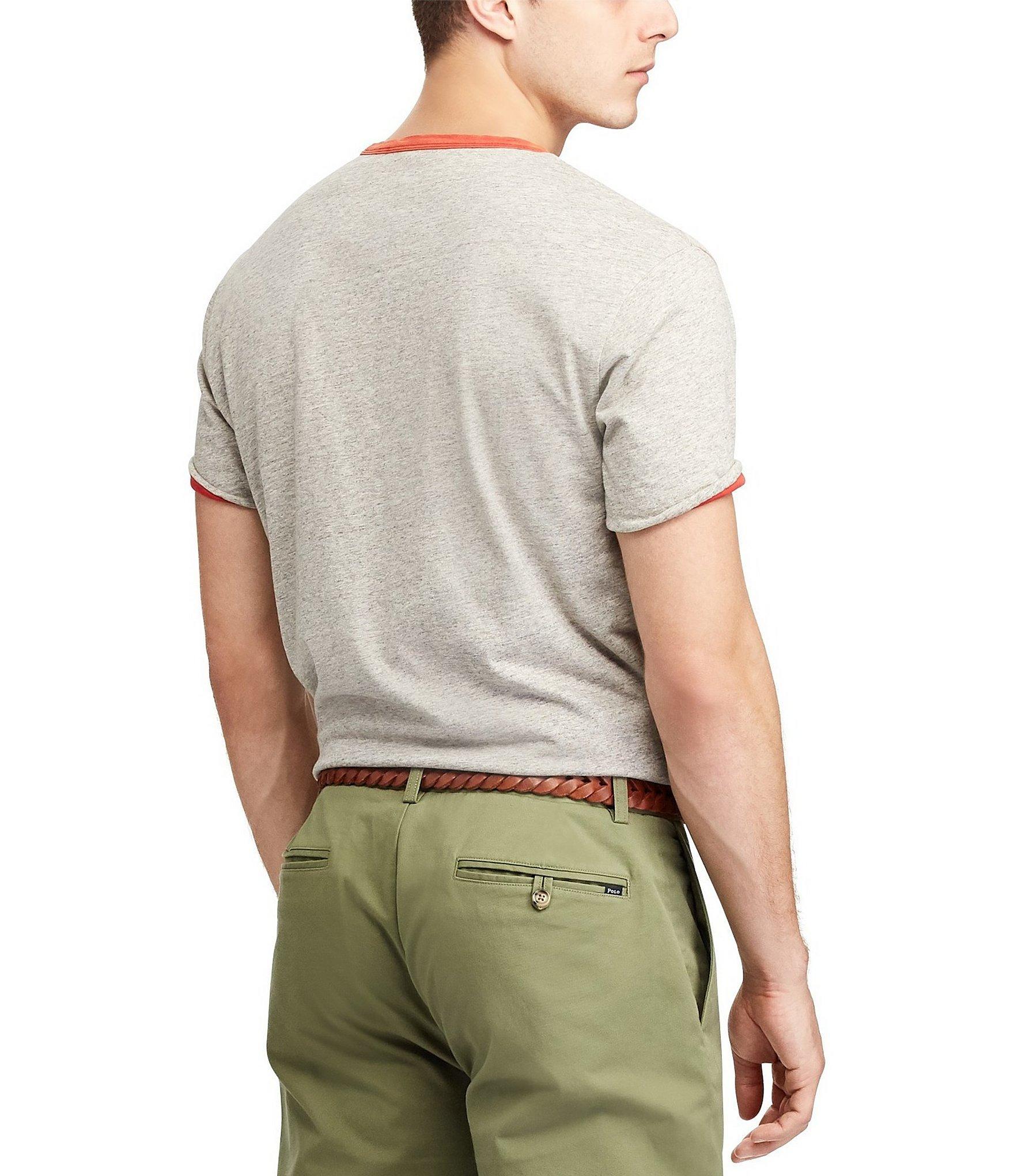 c4d3ba9c2e Polo Ralph Lauren - Multicolor Custom Slim-fit Yale Short-sleeve Reversible Graphic  Tee. View fullscreen