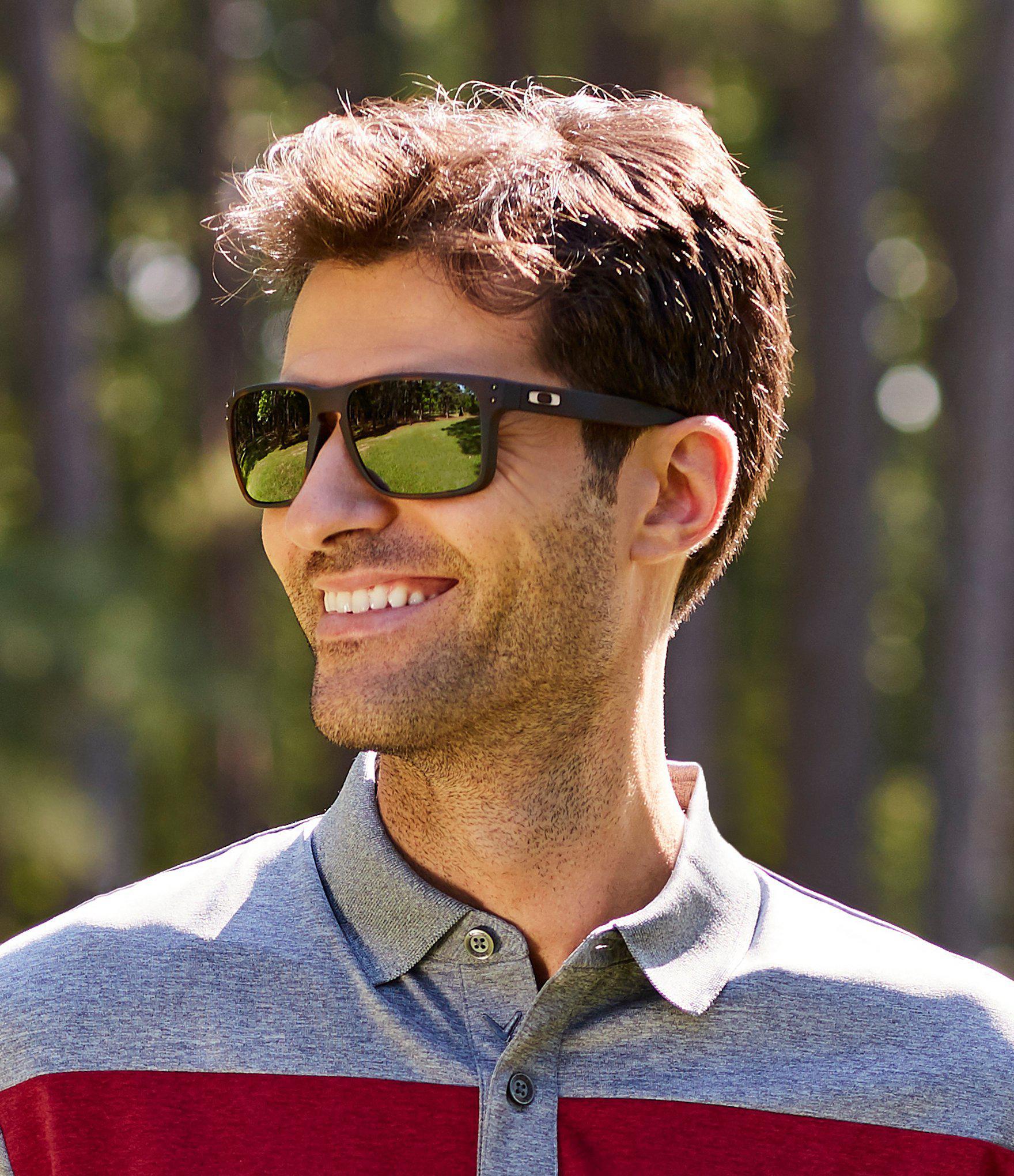 75e47db2ef Oakley - Brown Mens Tortoise Holbrook Xl Sunglasses for Men - Lyst. View  fullscreen