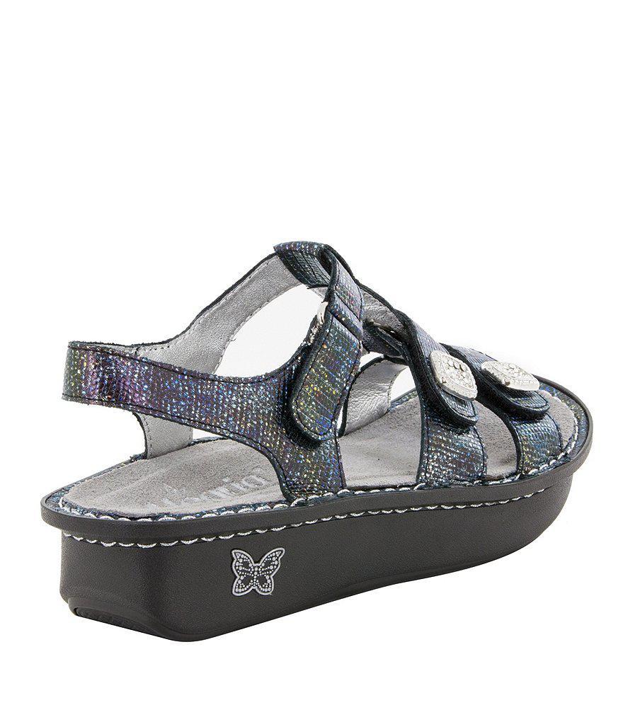 Alegria Kleo Glimmer Clam Sandals 8tOMtCj