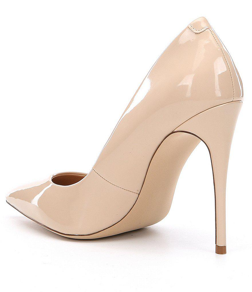 Daisie Patent Leather Pointed Toe Pumps HHkOugD