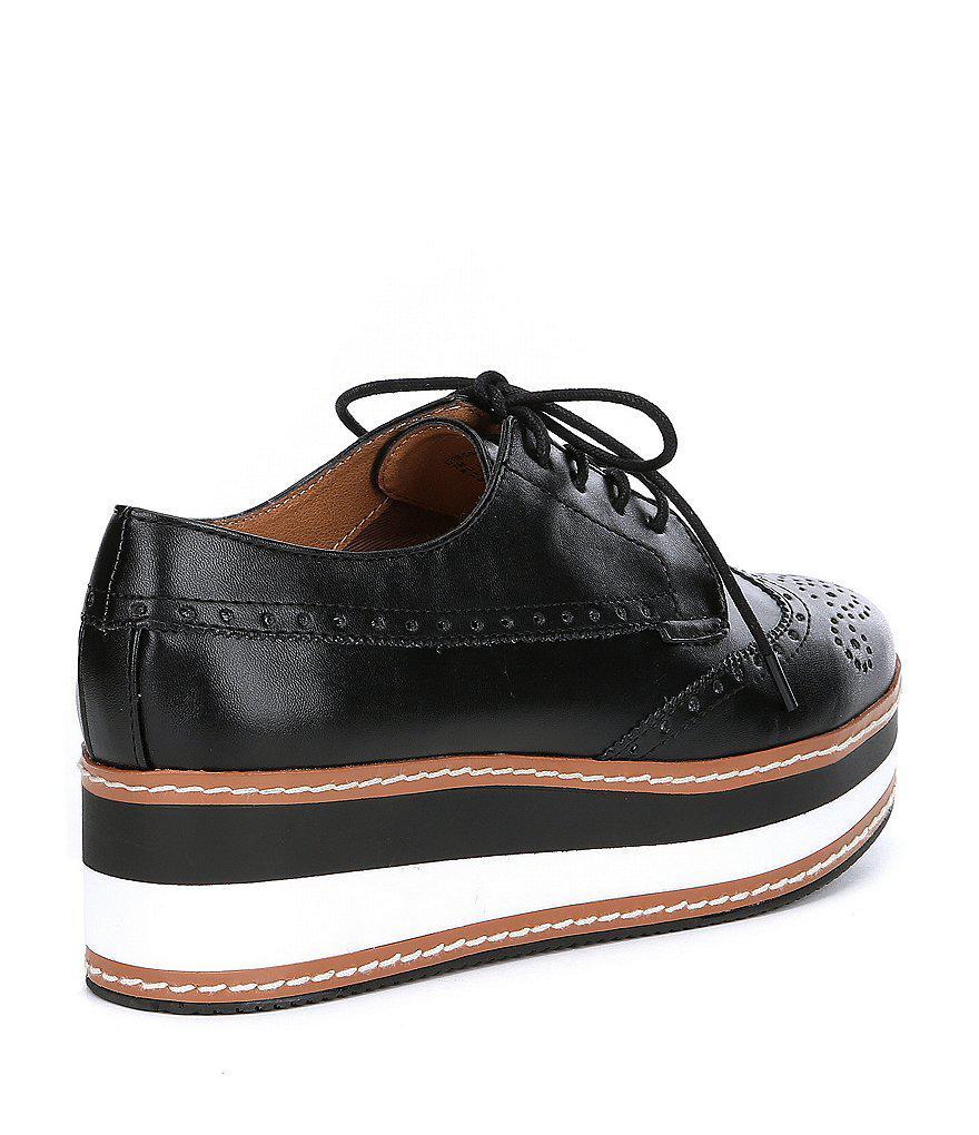 edc815240cf Steve Madden Metallic Greco Leather Oxfords