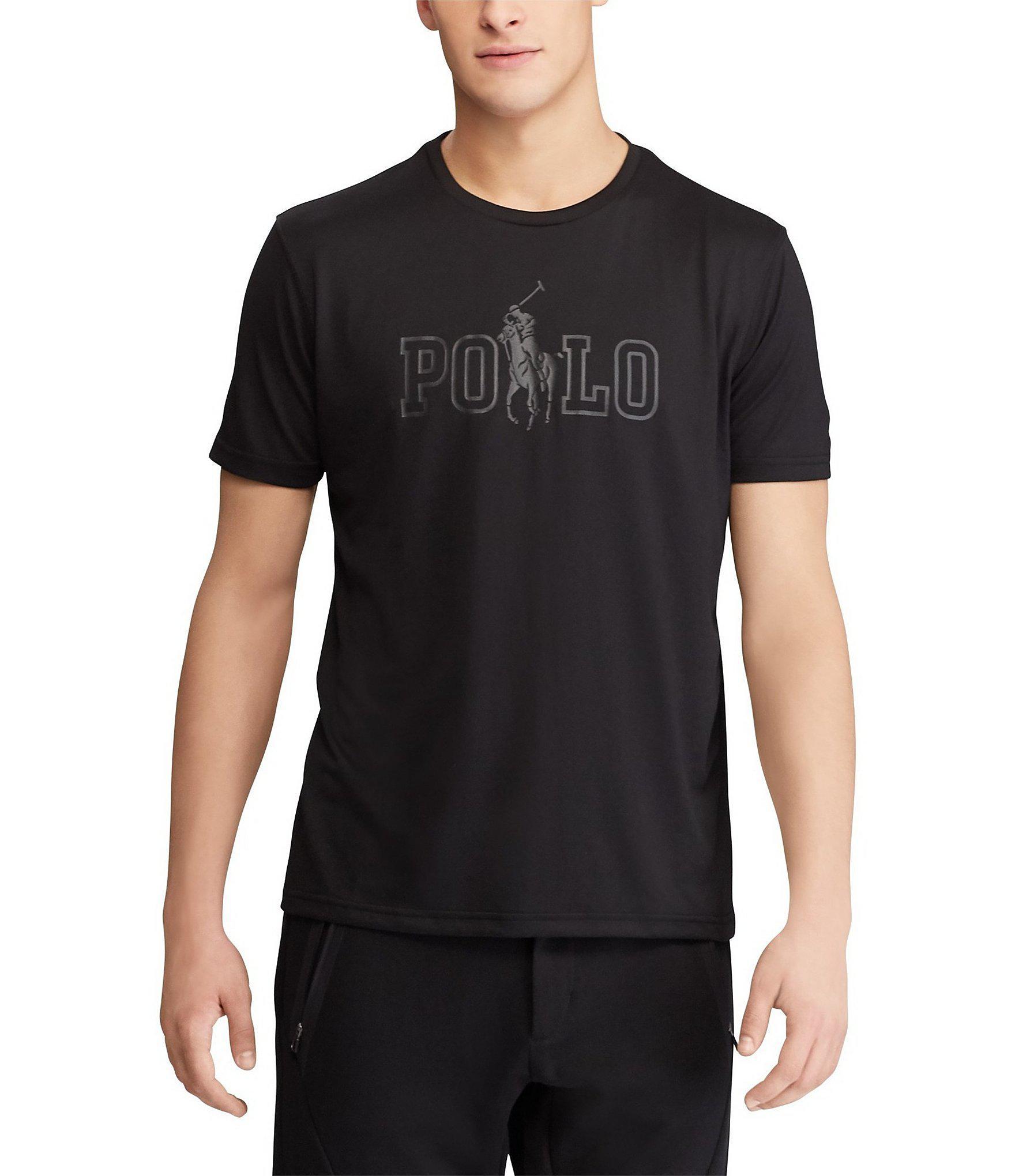 Lyst - Polo Ralph Lauren Big   Tall Performance Graphic Short-sleeve ... bff327cc6f9