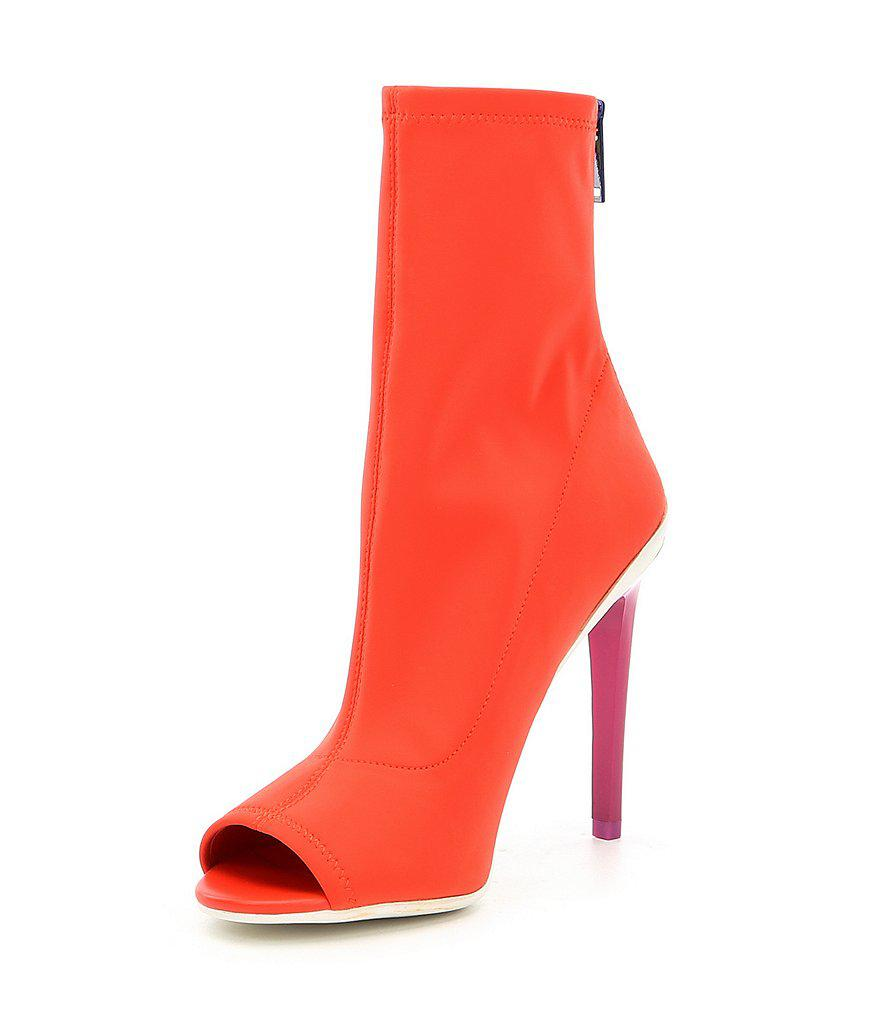 758c5f83520 ALDO Ulyssia Heeled Shoes in Orange - Lyst