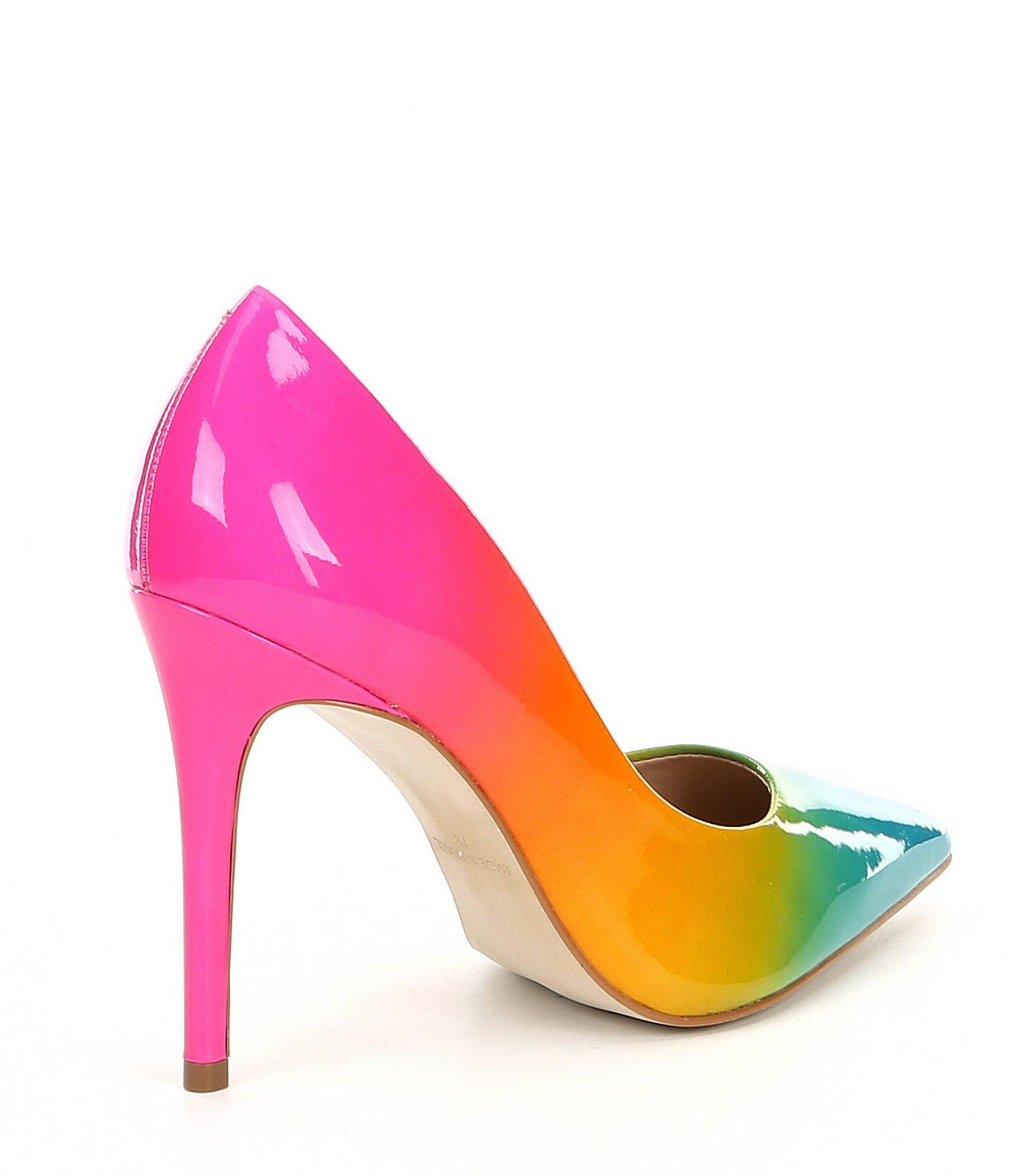 c6036d4941f Steve Madden - Multicolor Zaney Rainbow Dress Pumps - Lyst. View fullscreen