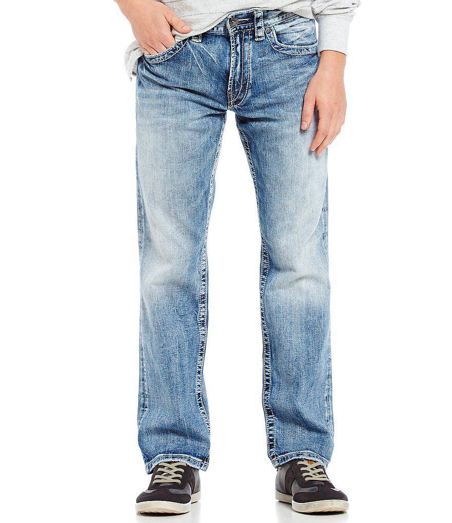 Mens Slim Jeans Silver Jeans Co BmS3v
