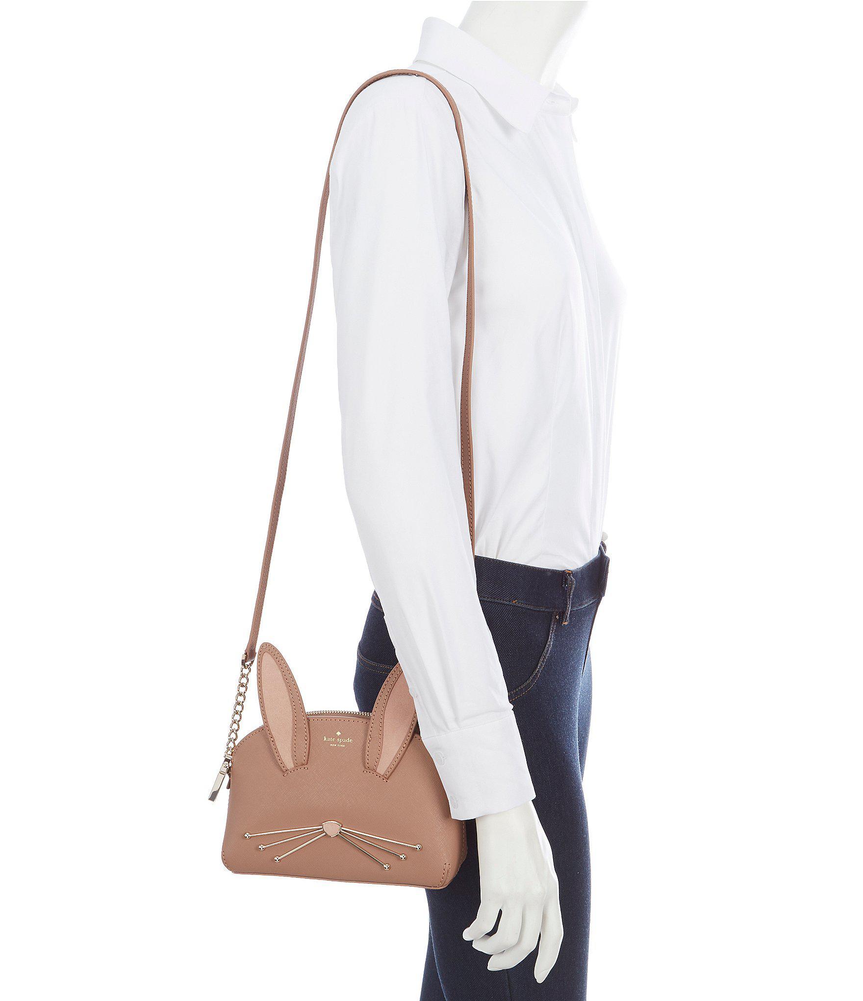 69149133fef7 Lyst - Kate Spade Desert Muse Rabbit Hilli Cross-body Bag