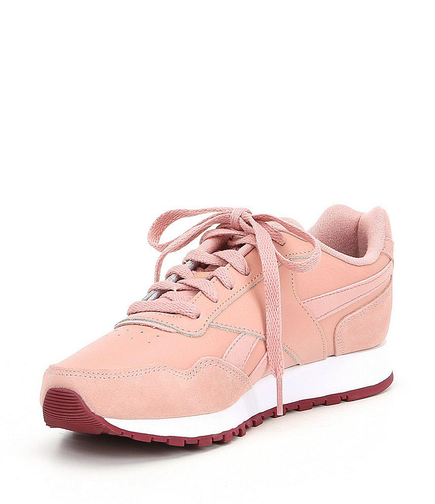 d48c10e0786ad Lyst - Reebok Women s Classic Harman Run Shoes in Pink
