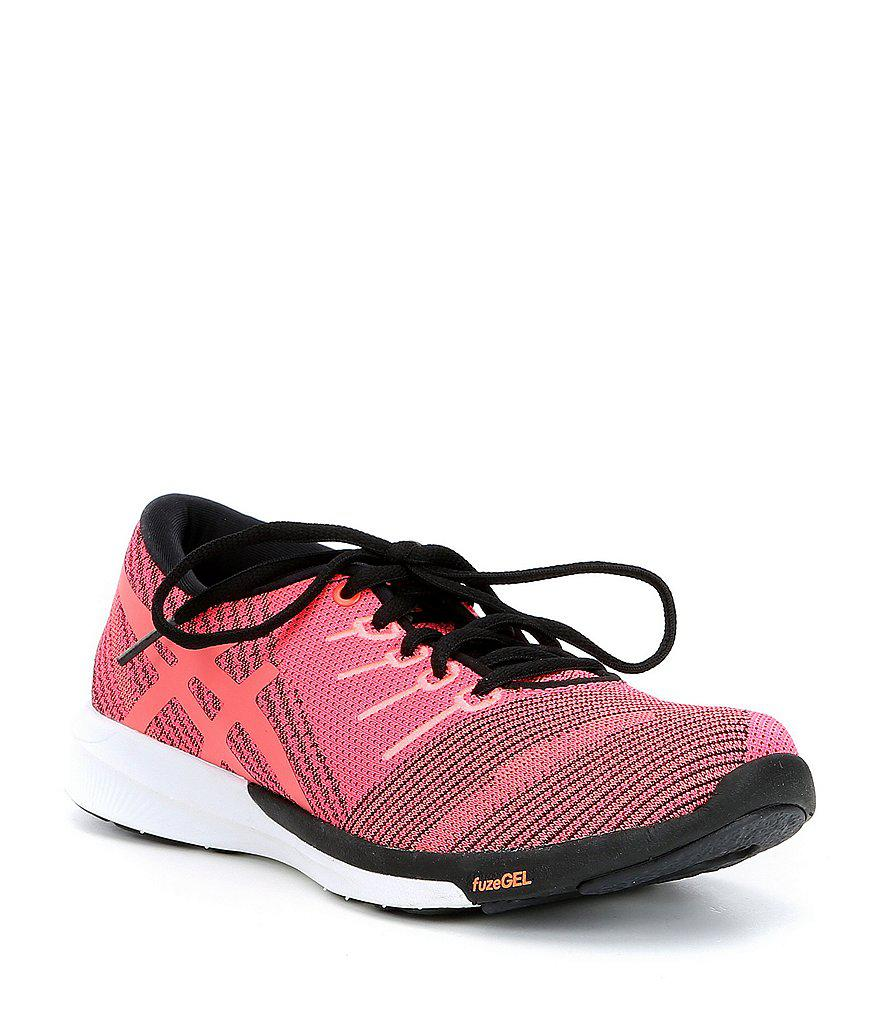 ASICS FuzeX Knit Running Shoe(Women's) -Carbon/Black/White For Sale The Cheapest Buy Cheap Cheap 2fYc1N4a