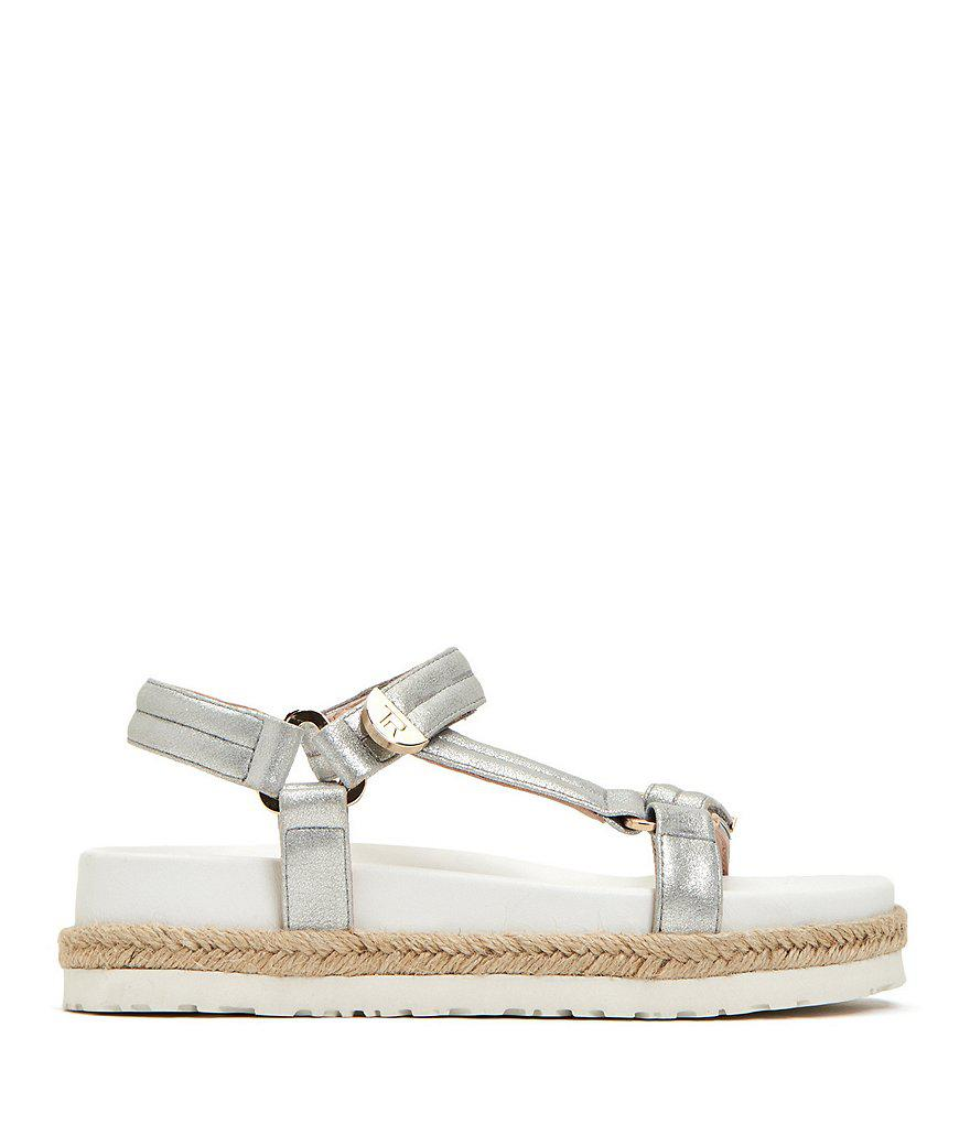 Lydia Metallic Leather Sandals BC6NBy