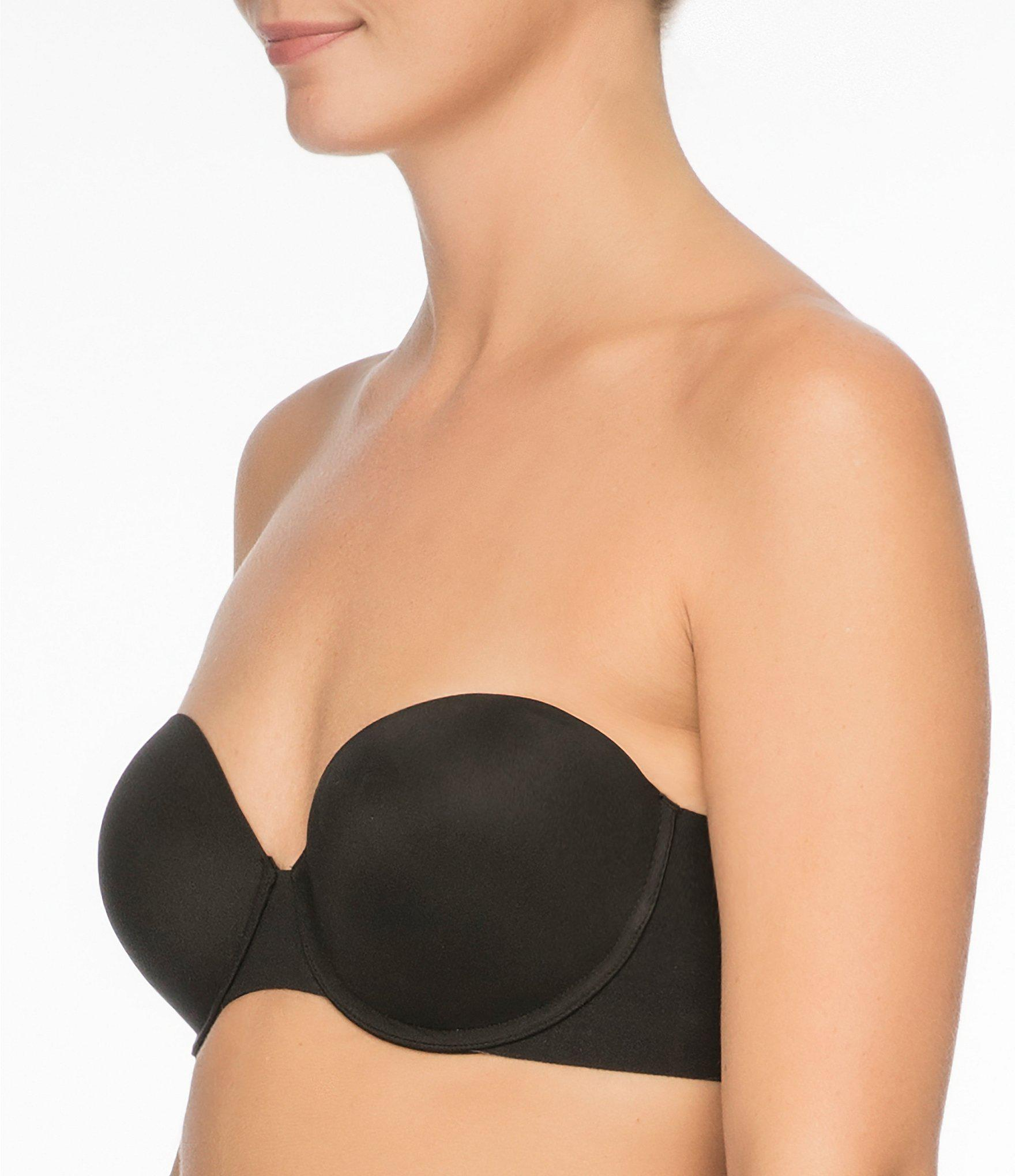 196767f9beb6c Spanx - Natural Up For Anything Strapless Bra - Lyst. View fullscreen