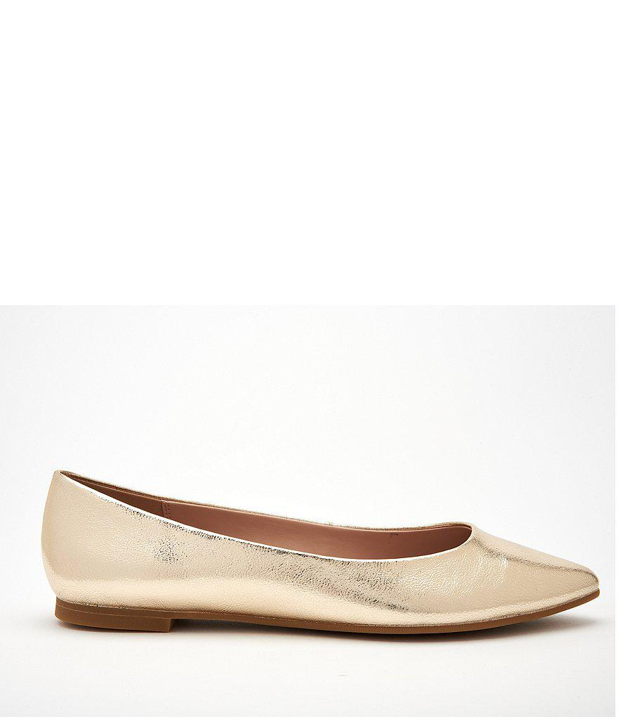 Millie Metallic Slip-On Flats pVgi2