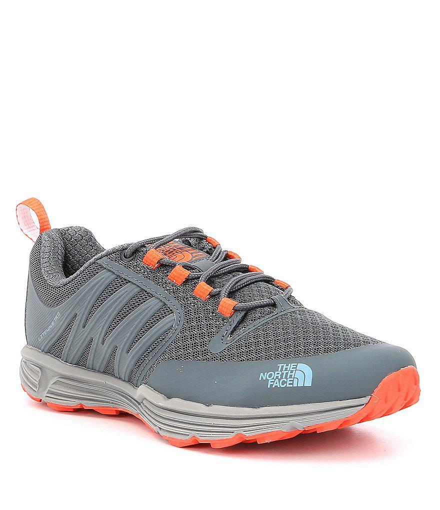 135c4ec38396 Lyst - The North Face Women s Litewave Tr Ii Sneakers in Gray