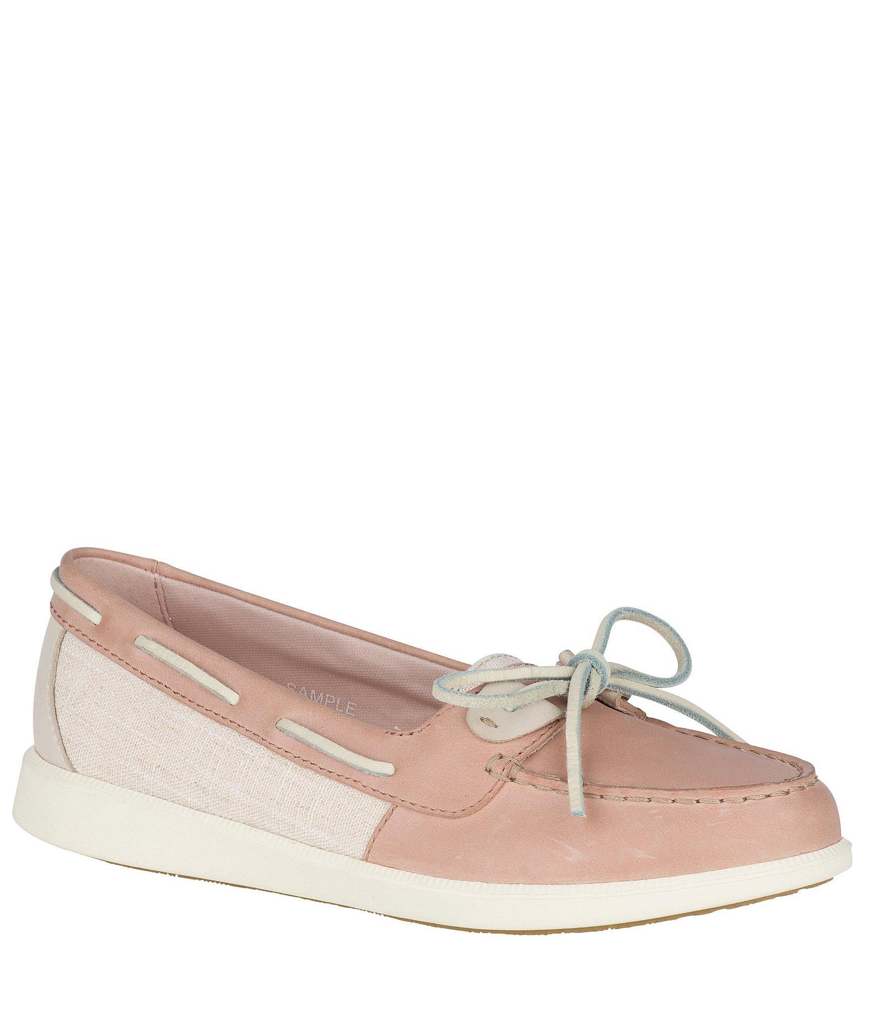 Sperry Top-Sider Oasis Dock Knit Boat Shoe Women 9 Rose