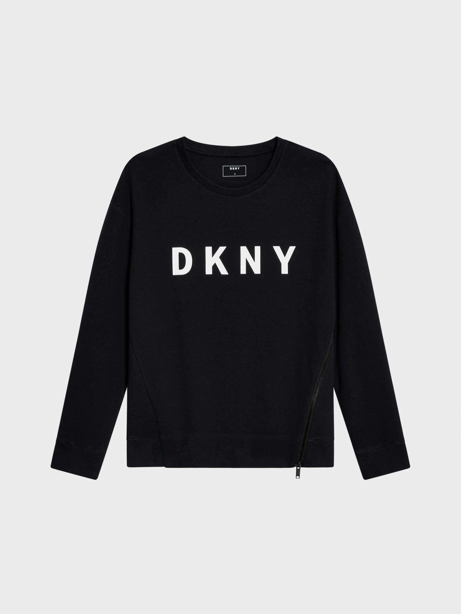 DKNY front logo sweatshirt Outlet Fashion Style Free Shipping 100% Guaranteed Free Shipping Exclusive Cheap Purchase YS5ilXwv