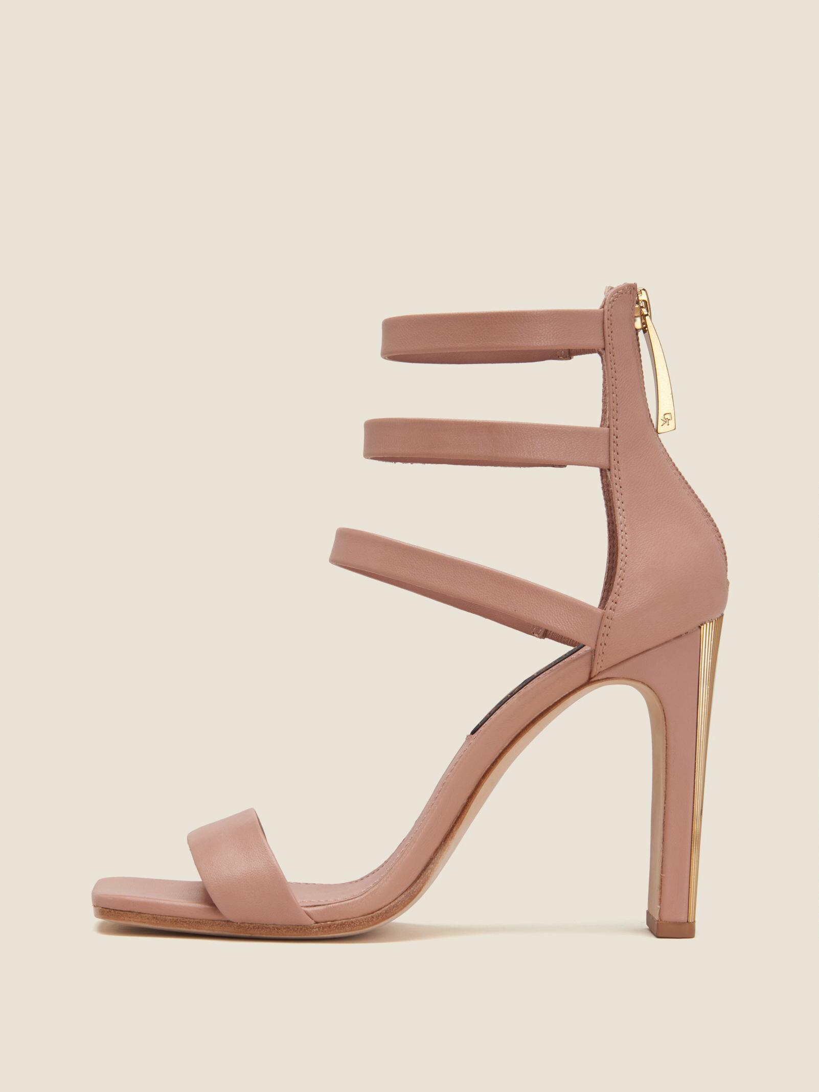 93432d9c7fb Women's Pink Sol Leather Ankle Strap Sandal