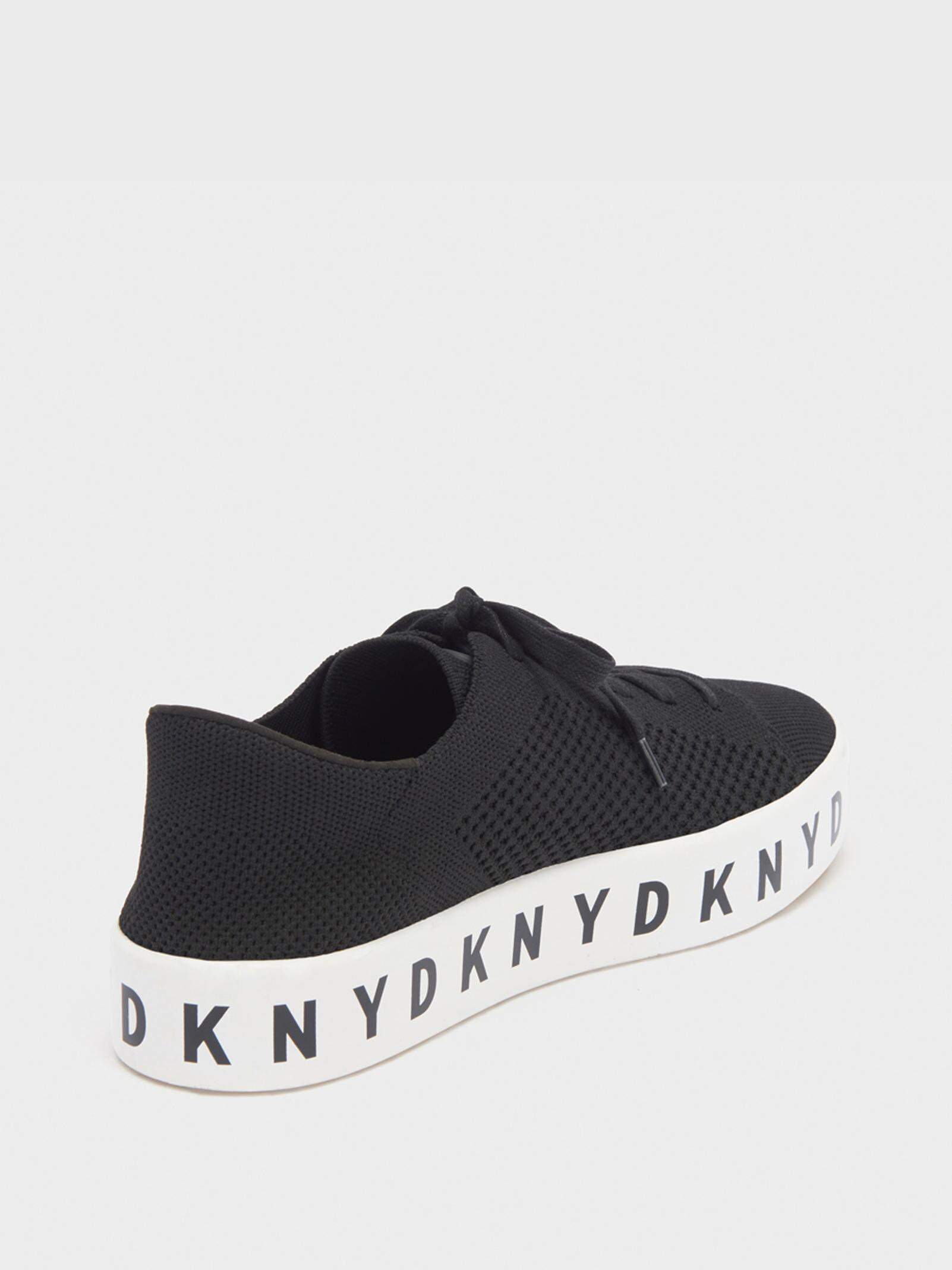d199a4e453ee Lyst - DKNY Banson Platform Sneaker in Black - Save 55%