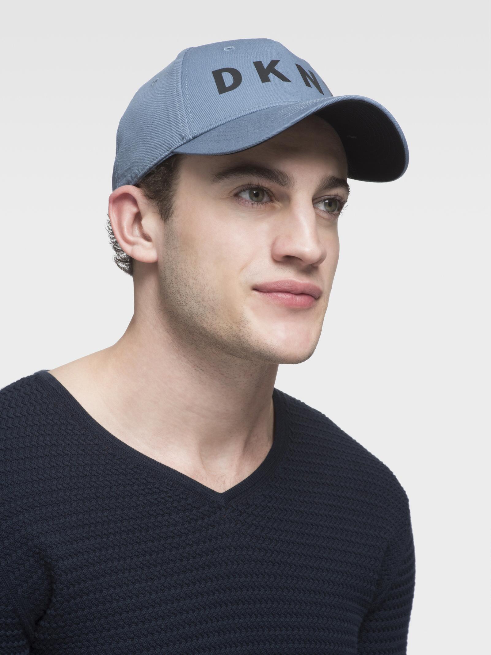 DKNY - Blue Classic Logo Hat - Lyst. View fullscreen 0b1811ddcebf