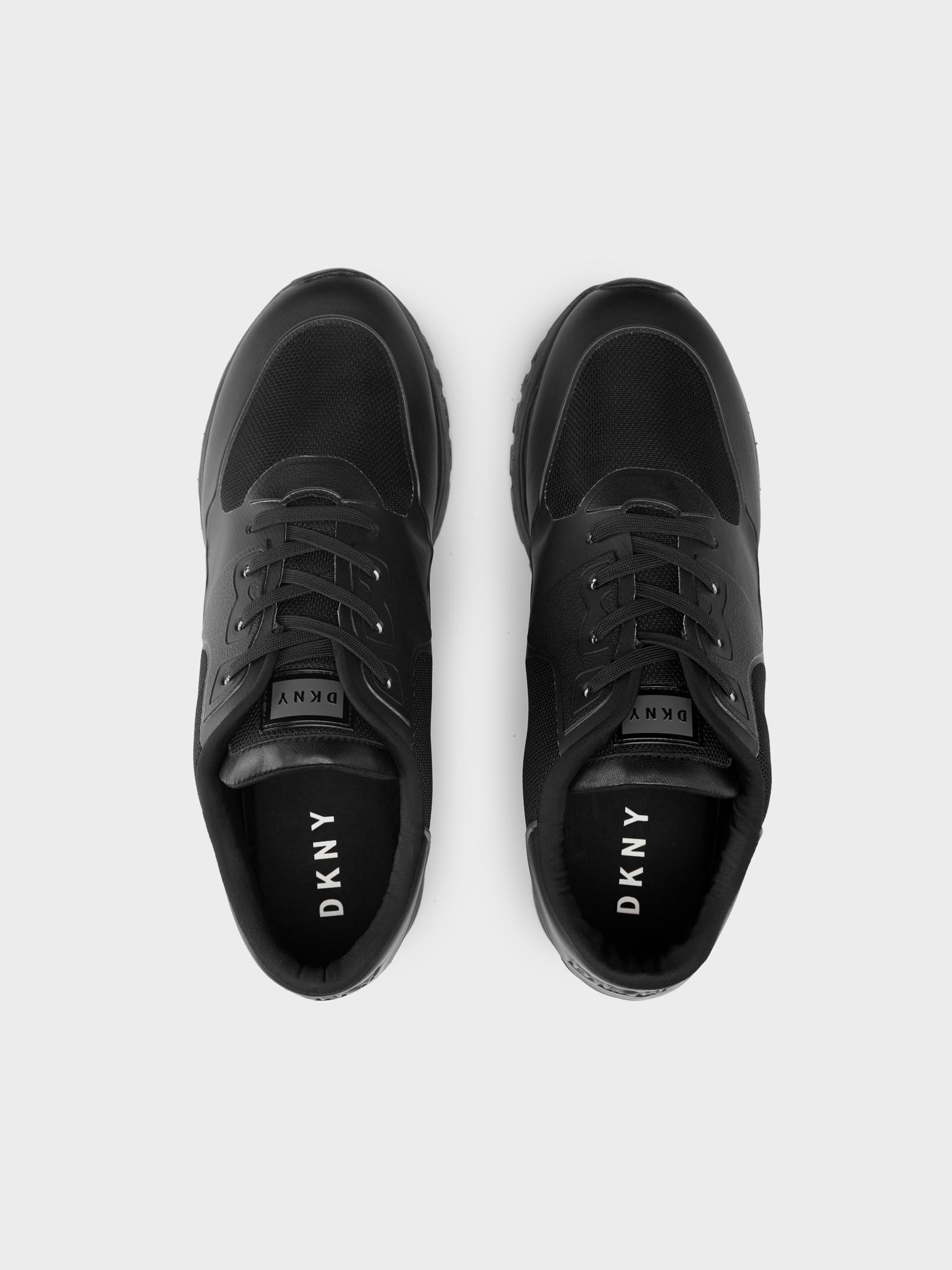 DKNY Synthetic Jennie Lace Up Sneaker