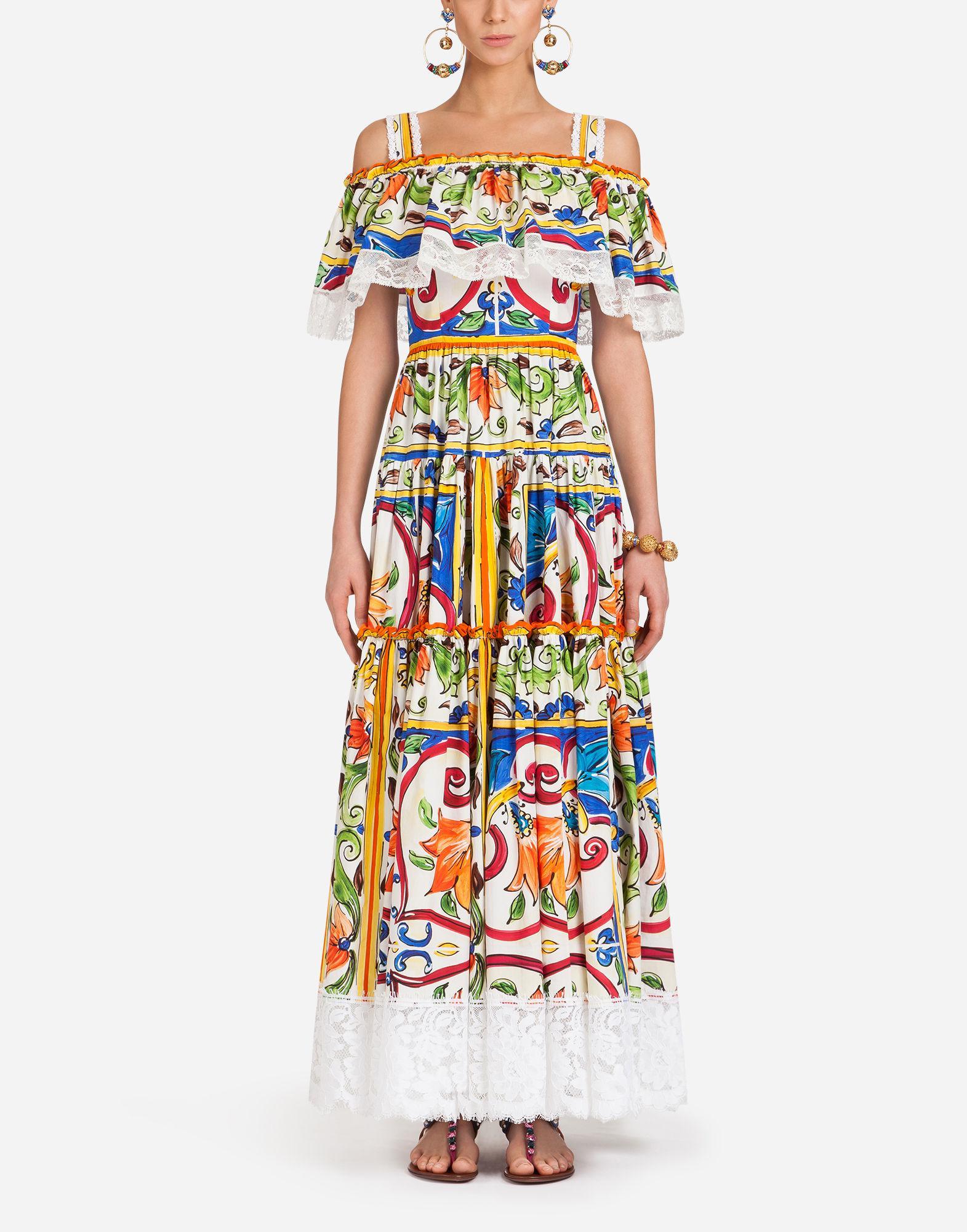 mosaic Majolica print dress - Multicolour Dolce & Gabbana Get To Buy Sale Online Amazon Cheap Online Original Sale Online hQFhFr5p