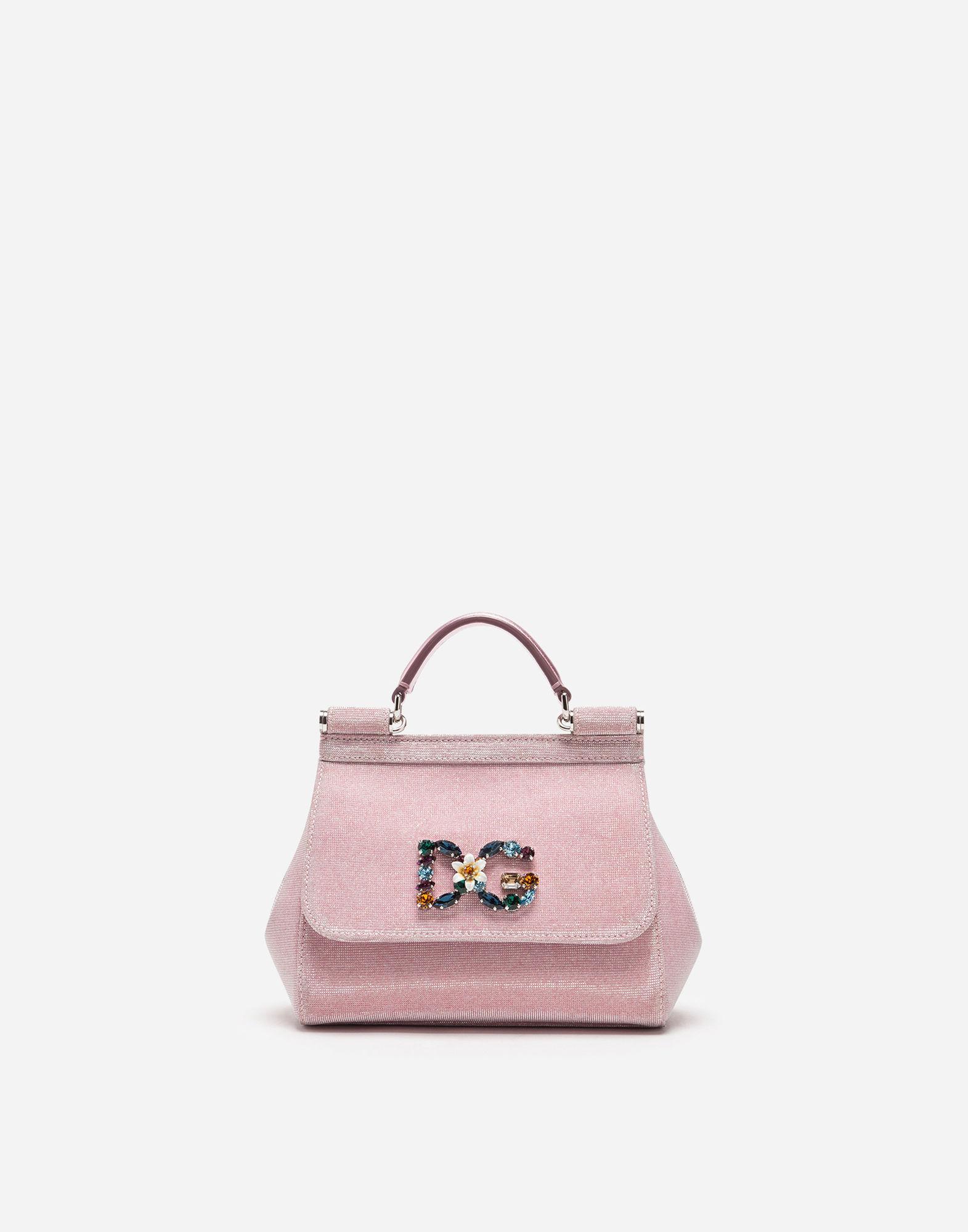 7f1ca2a4c931 Dolce   Gabbana. Women s Pink Mini Sicily Bag ...
