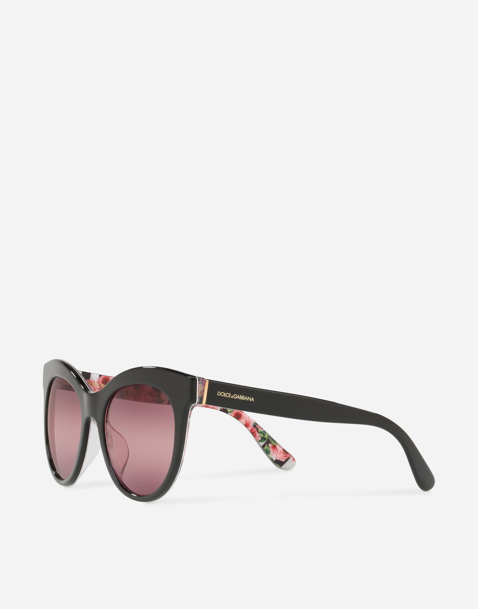8504e75428619 Sunglasses Cat Eye Interior Lyst And With Gabbana Dolce Stripe amp  IZaqxXw