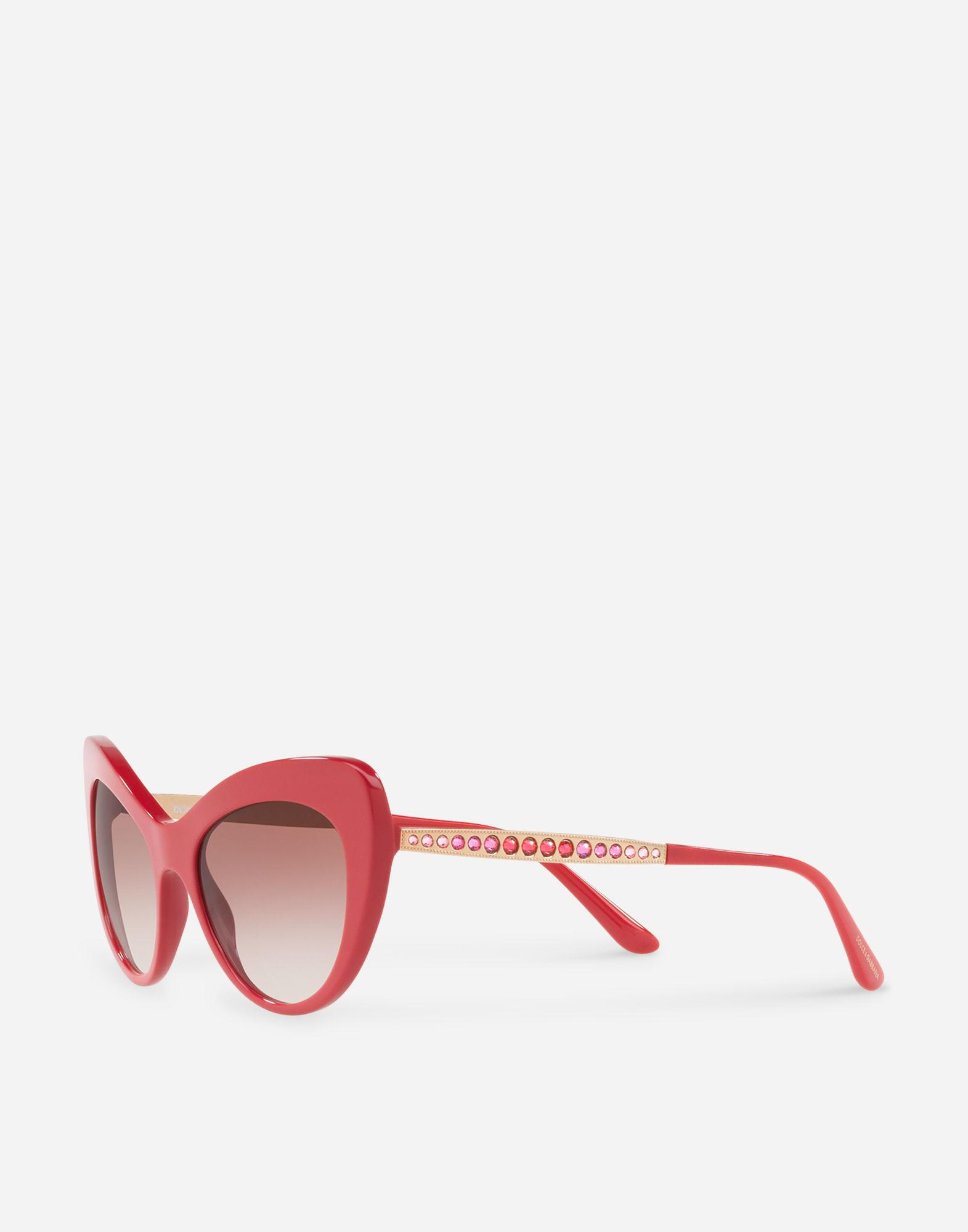 63b99c282a9 Lyst - Dolce   Gabbana Mambo Sunglasses in Red for Men