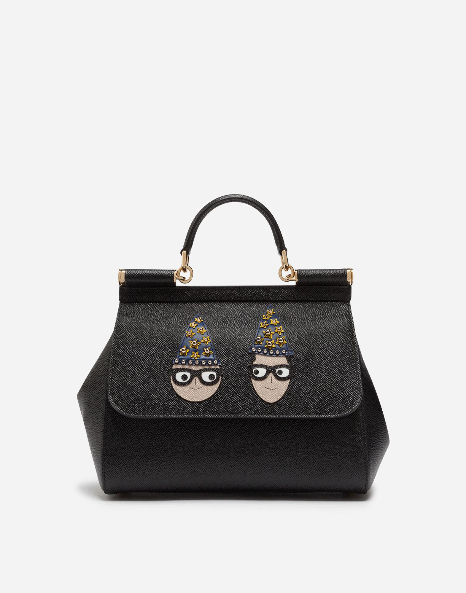 3e6949c0117 Lyst - Dolce   Gabbana Medium Sicily Bag In Dauphine Calfskin With ...