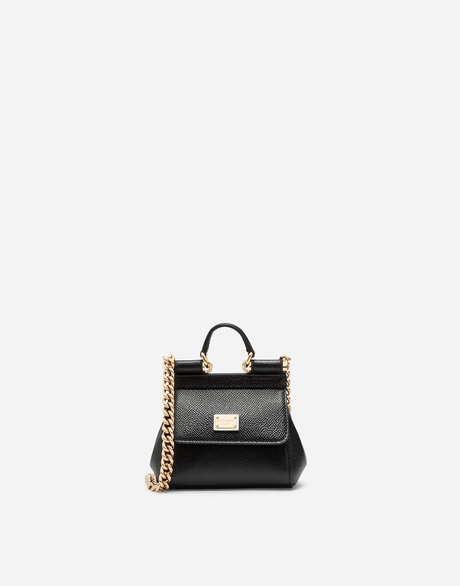 Lyst - Dolce   Gabbana Sicily Handbag In Printed Dauphine Calfskin ... 383c96058f839