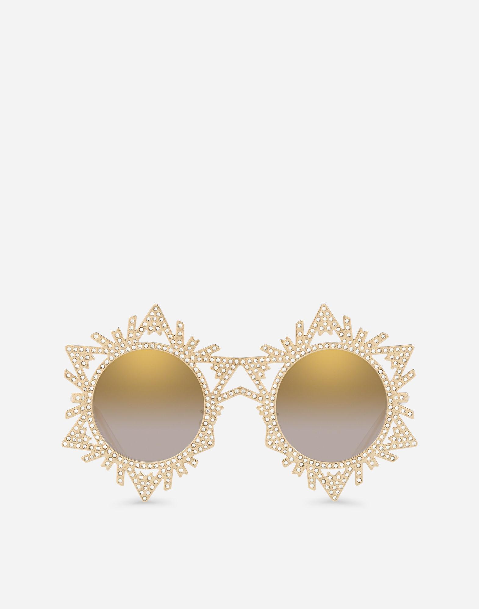 109638e2026c Lyst - Dolce   Gabbana Dg Star Sunglasses in Metallic